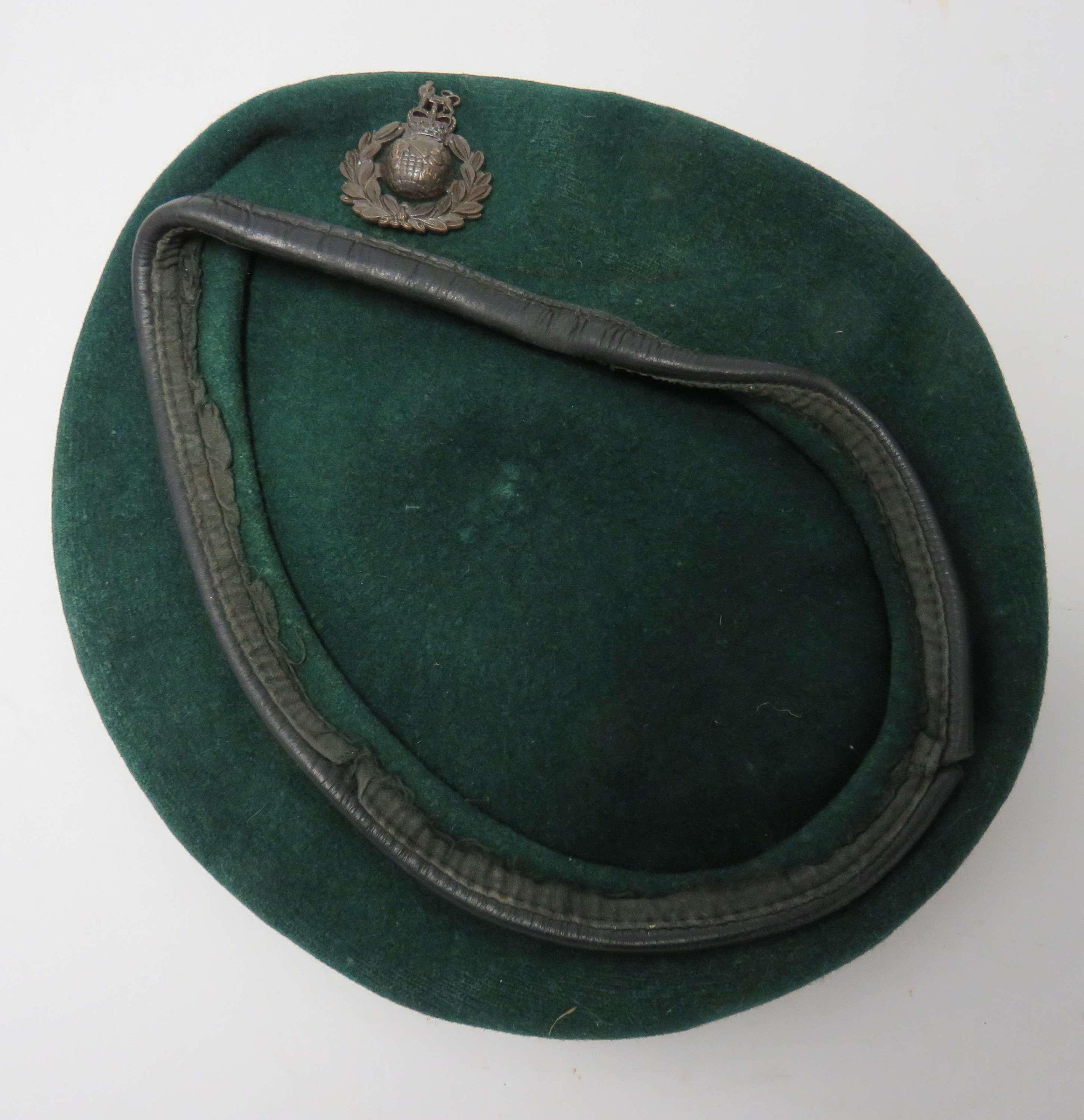 Post 1953 Royal Marines Green Beret