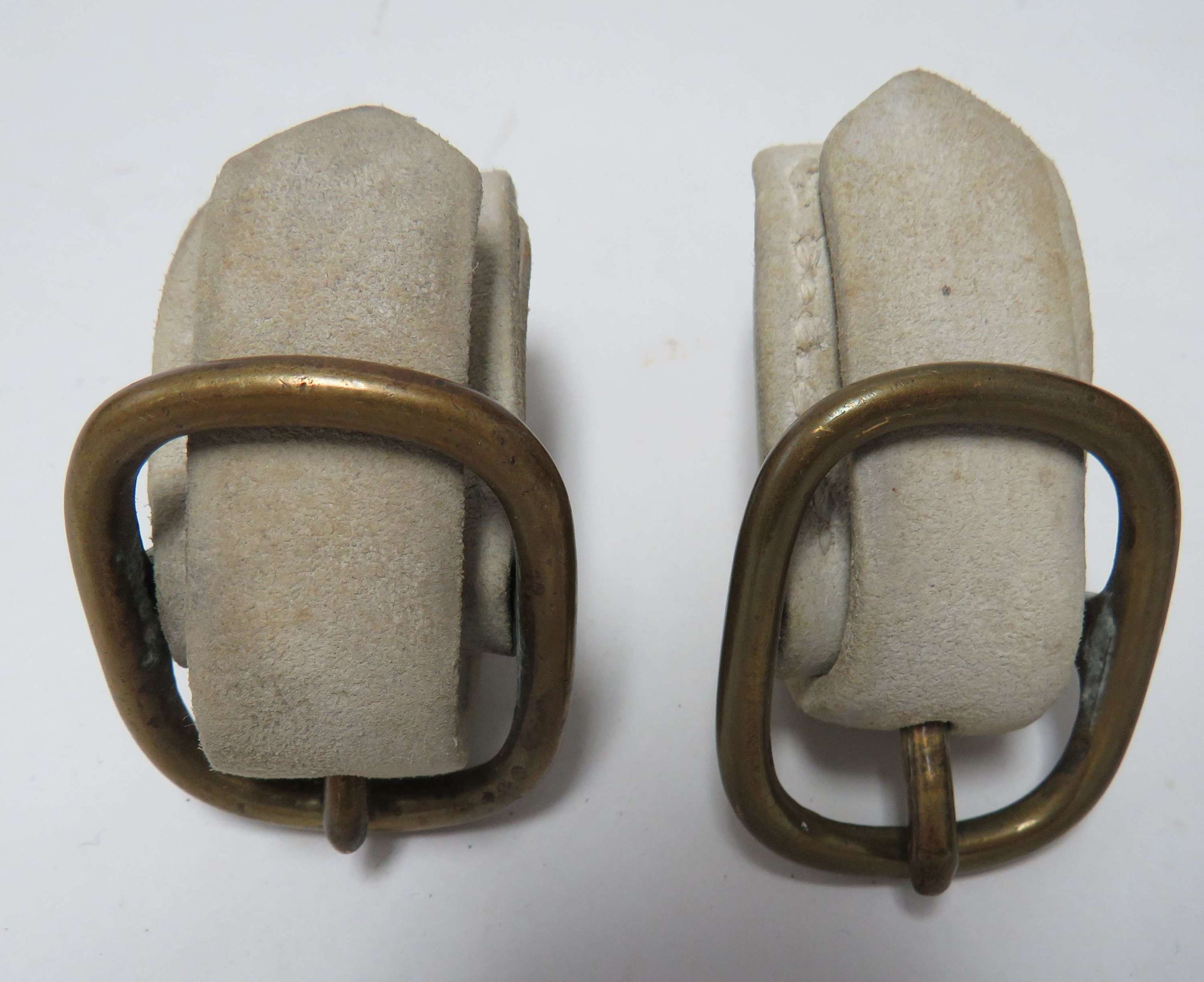 Pair of Victorian Cavalry Hanging Securing Loops