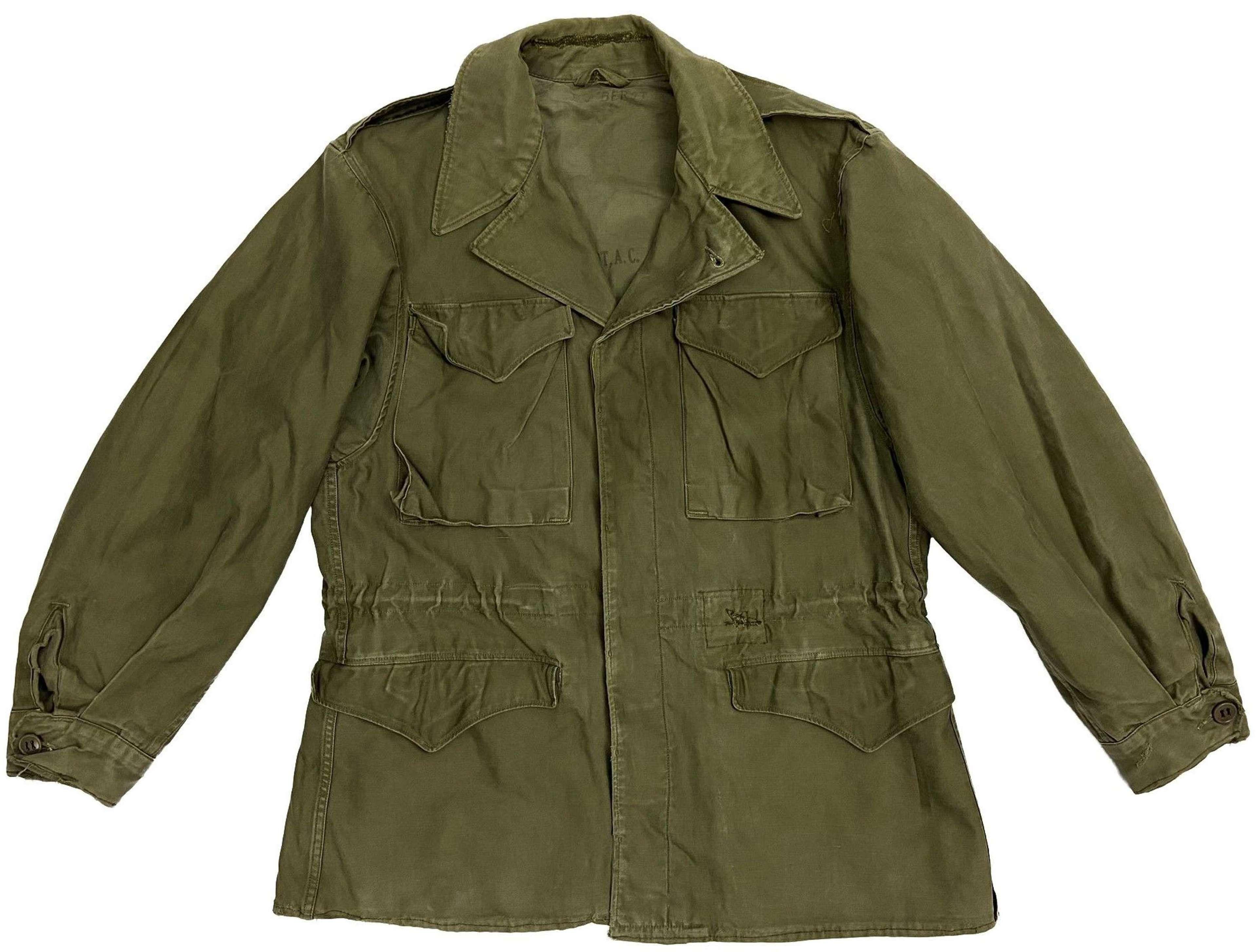 Original WW2 US Army M1943 Combat Jacket - Size 36