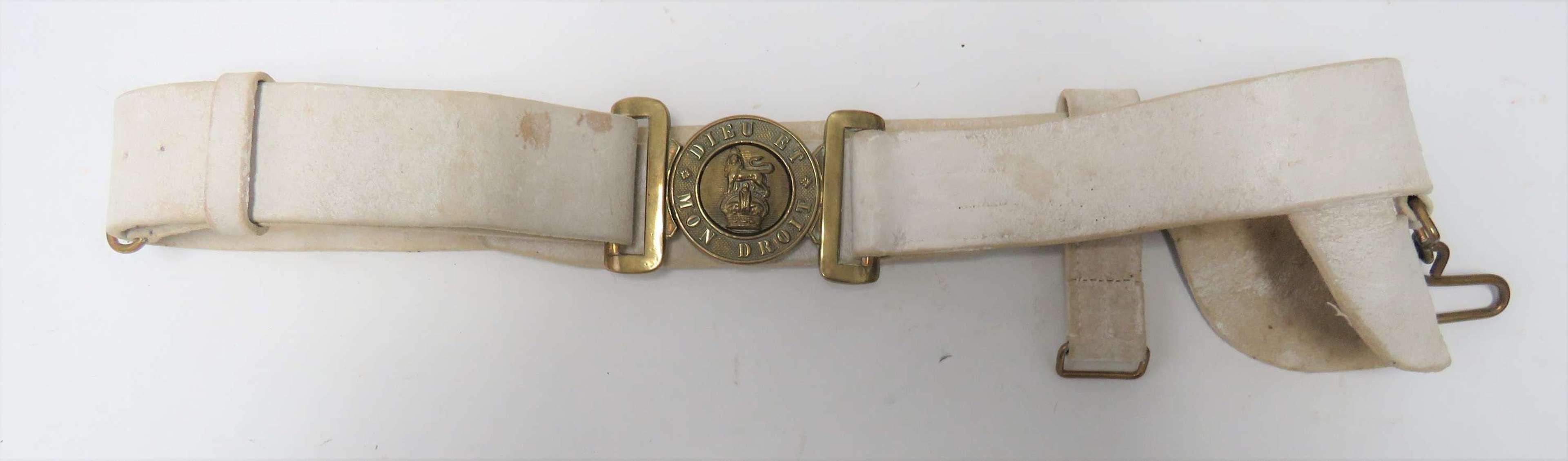 Post 1901 Senior N.C.O s Buff Leather Sword Belt