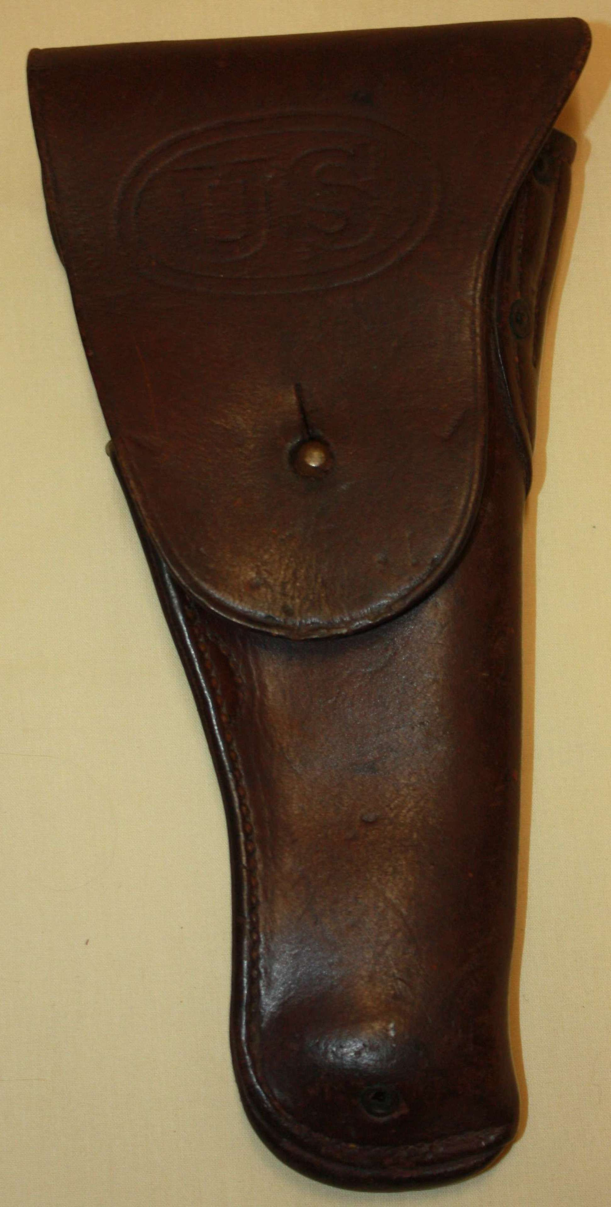 A WWI PERIOD US PISTOL HOLSTER COLT 1911 PATTERN