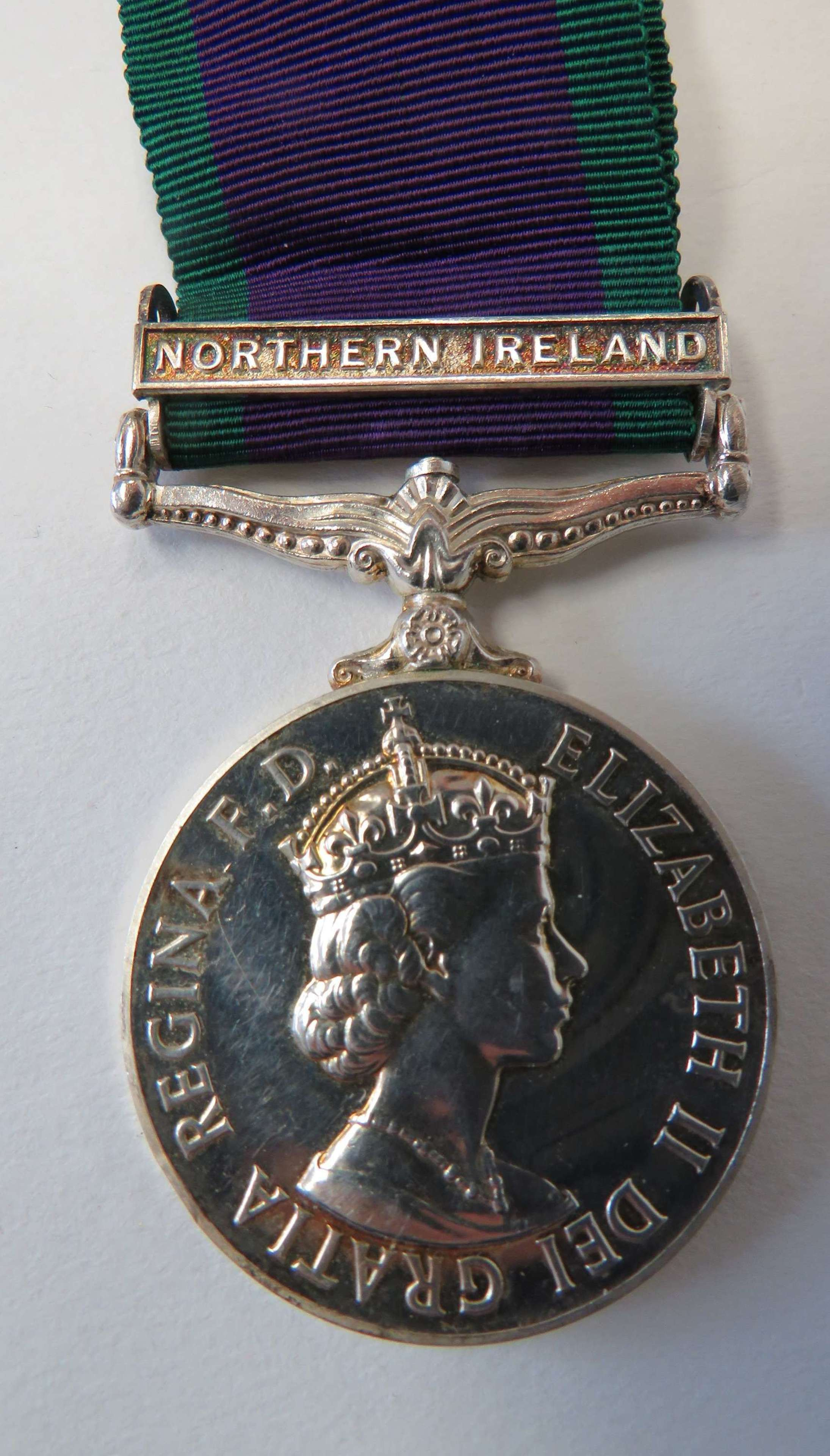 Royal Air Force G.S.M Northern Ireland Medal