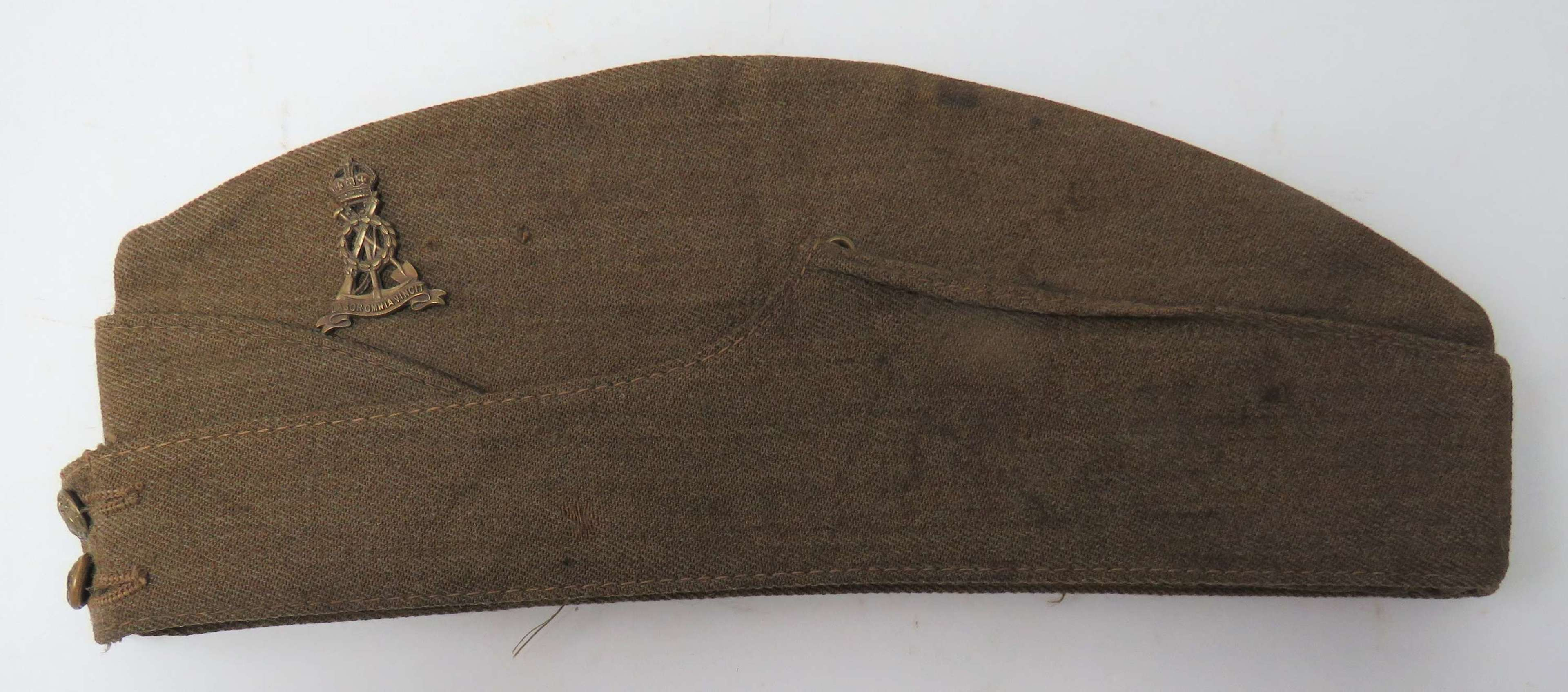 WW2 Pioneer Corps Other Ranks Field Service Cap