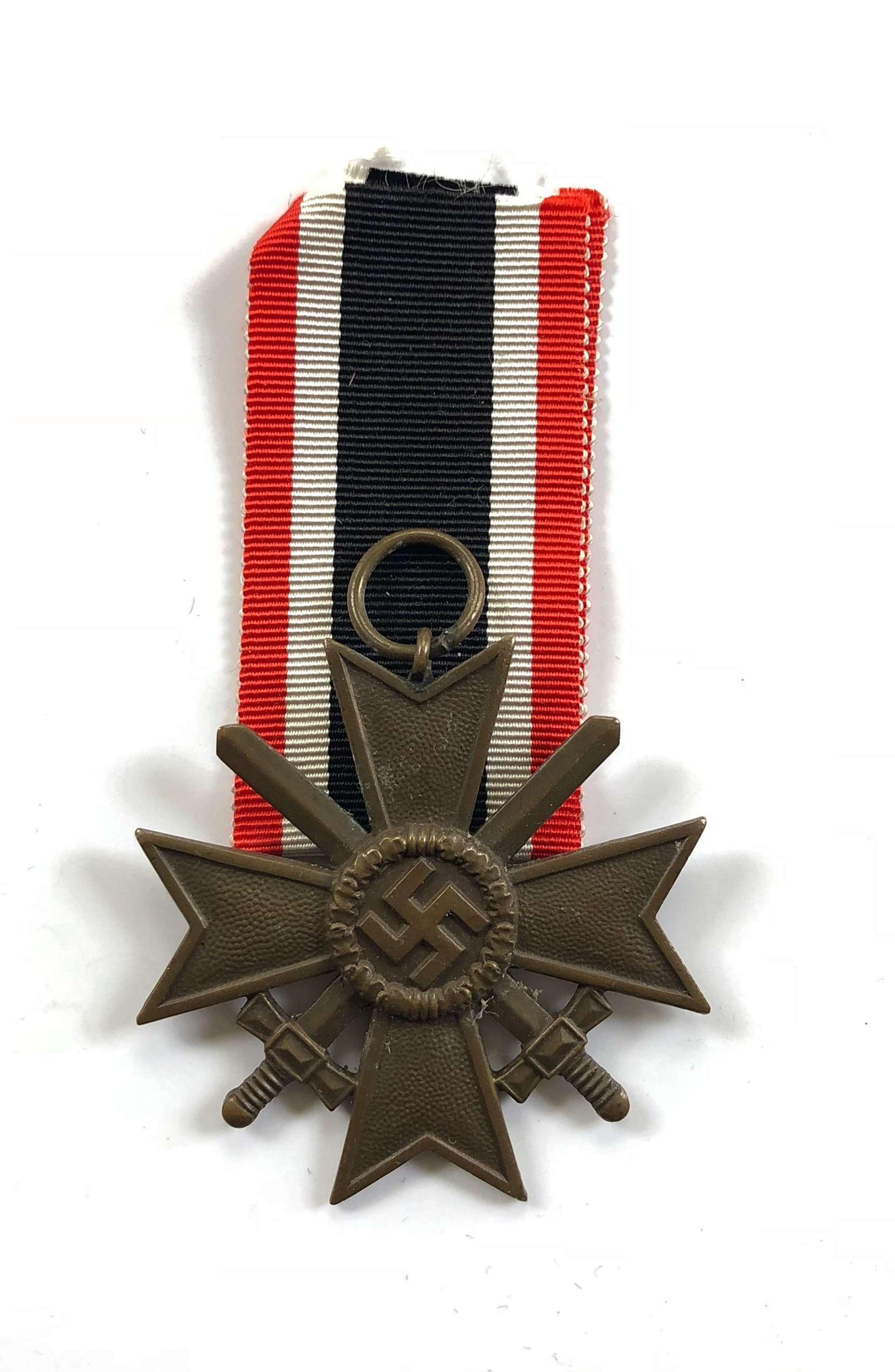 WW2 German War Merit Cross with Swords
