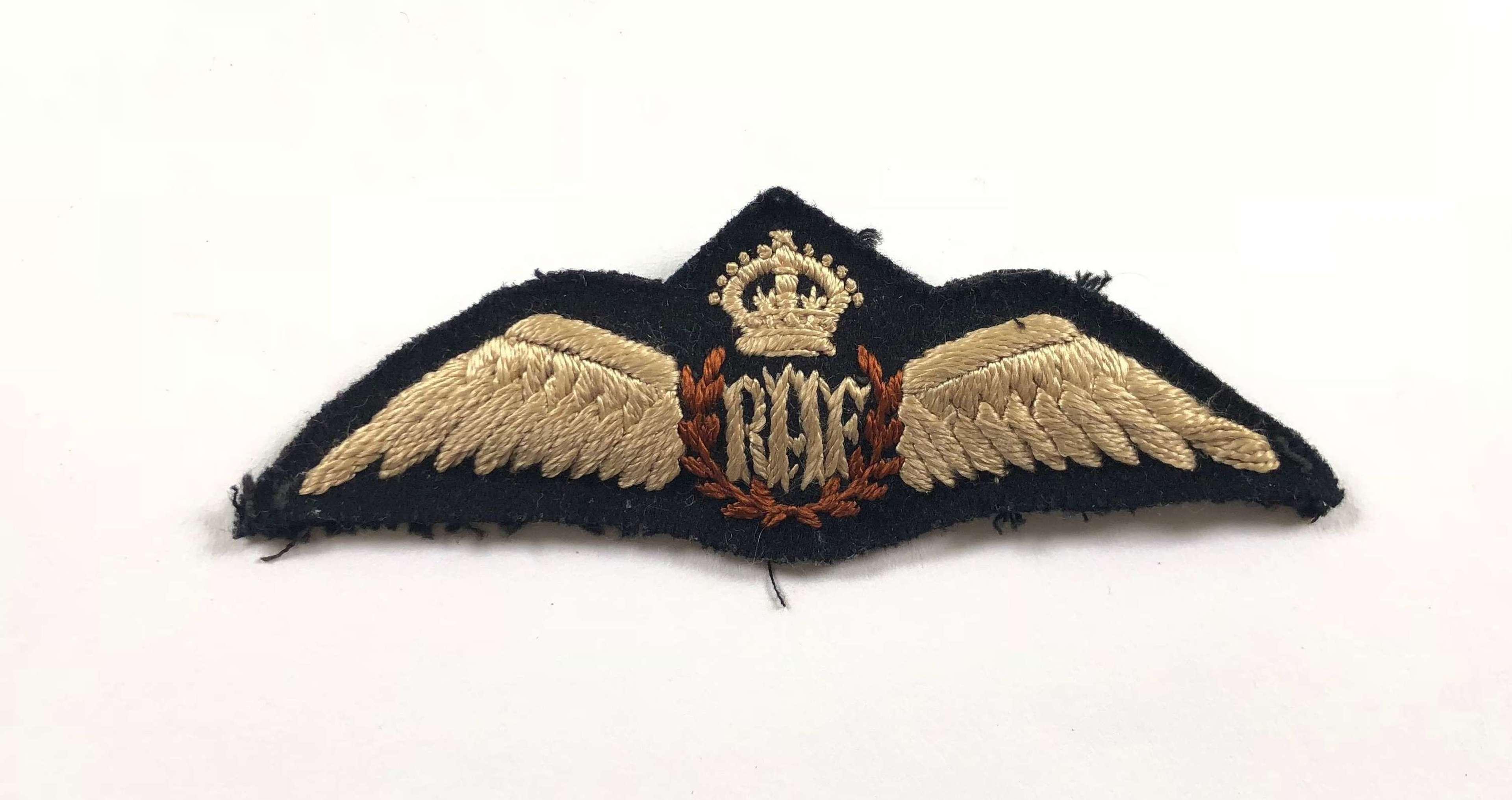 WW2 RAF Pilot Wings, Middle East / Far East