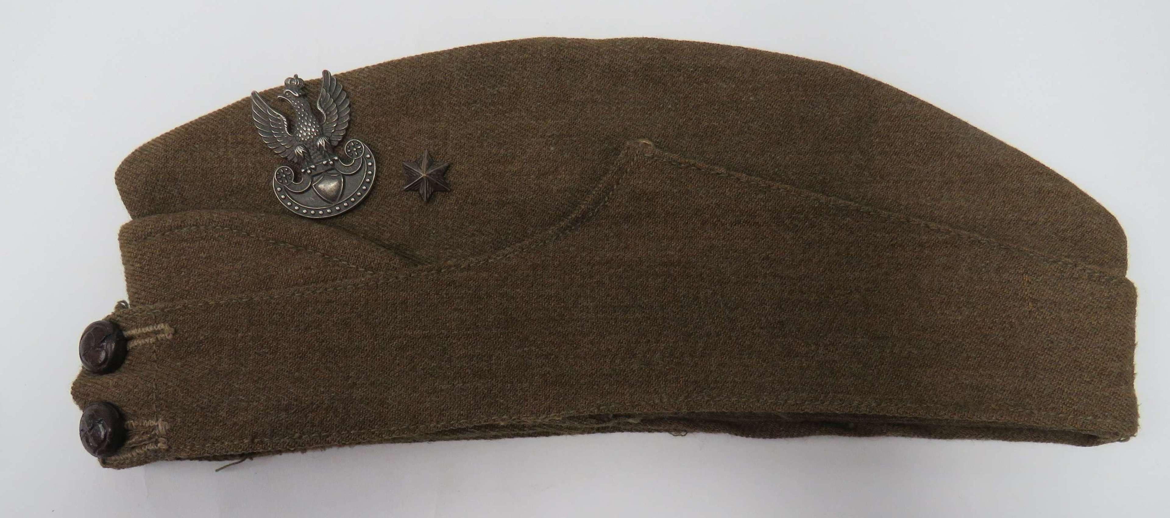 WW2 Polish Exiled Forces Forage Cap