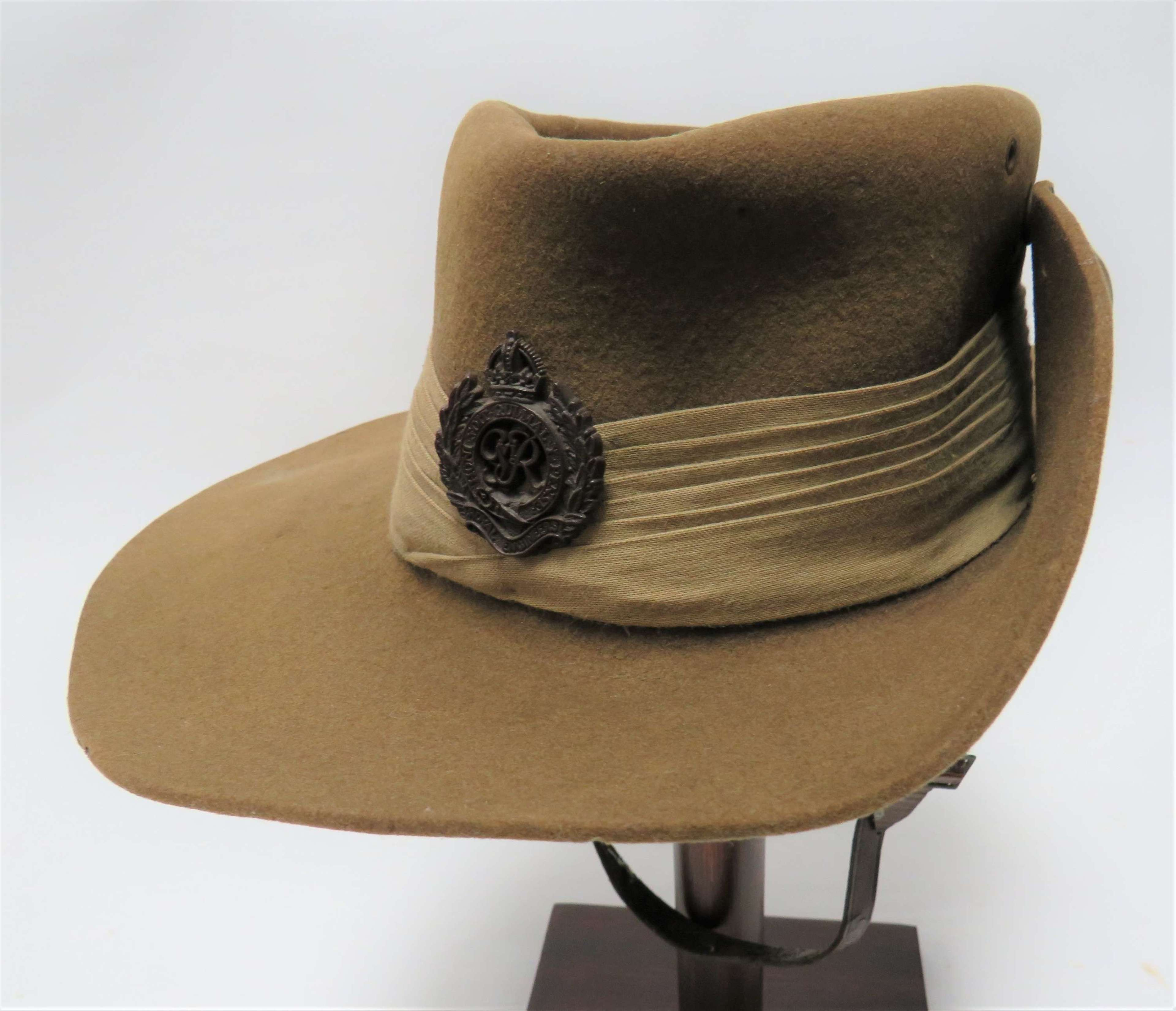 1942 Dated Royal Engineers Tropical Bush Hat