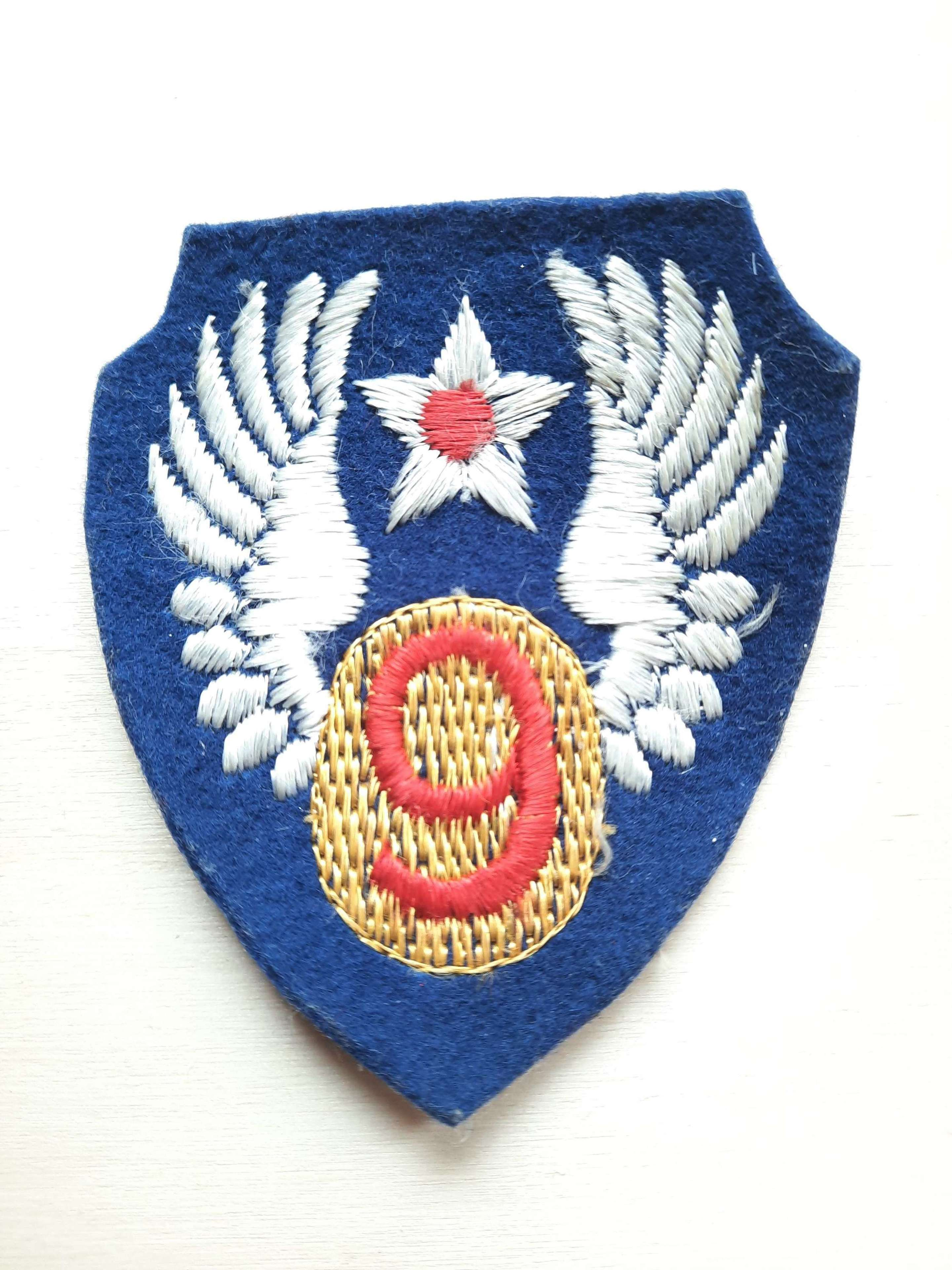US 9th Air Force Patch