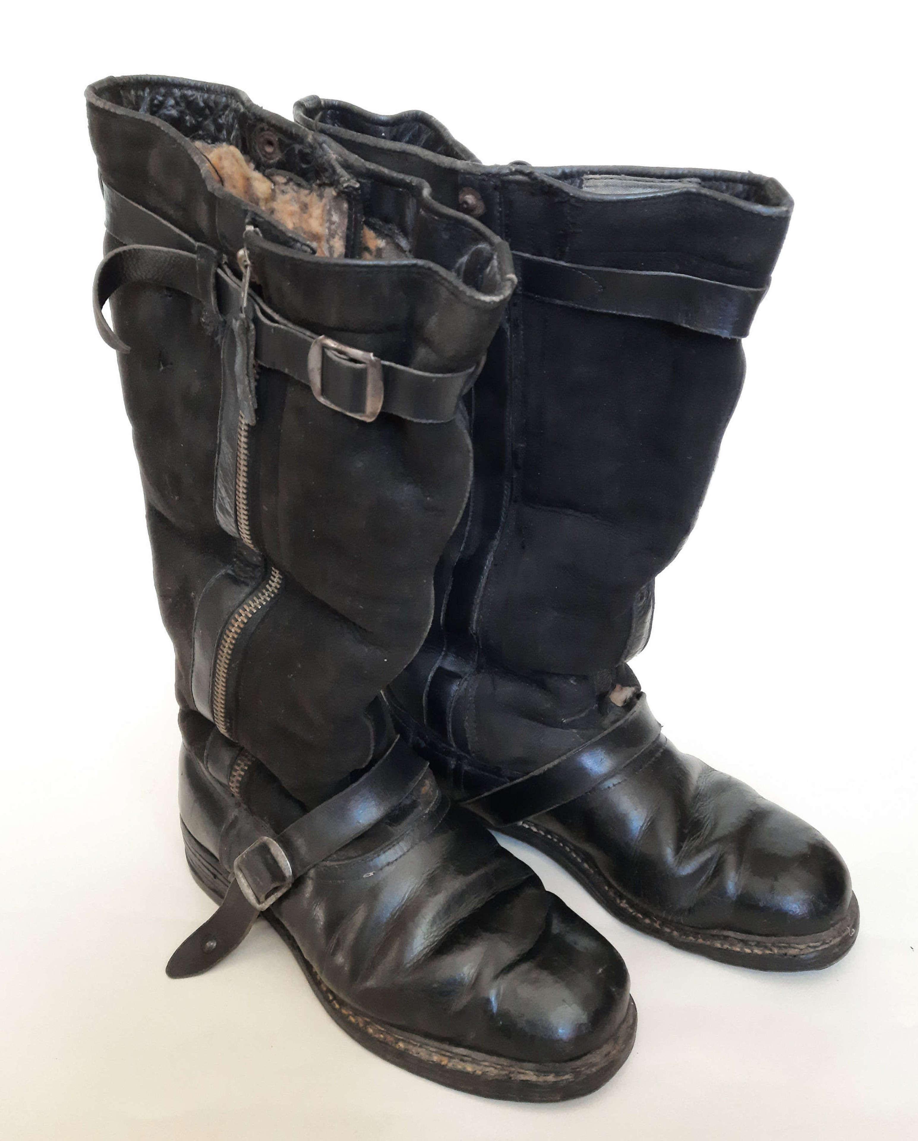 WW2 Luftwaffe Flying Boots