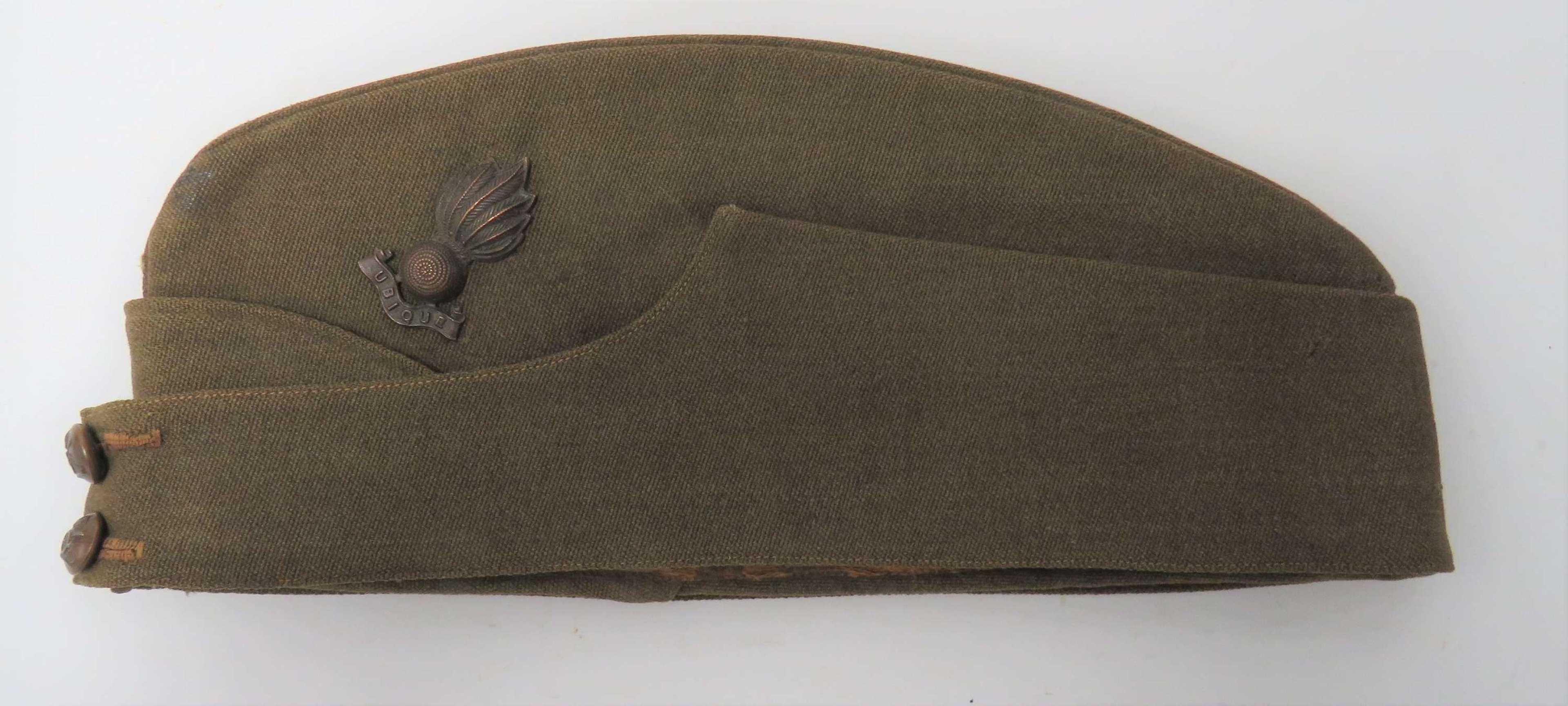 WW2 Royal Artillery Officers Field Service Cap