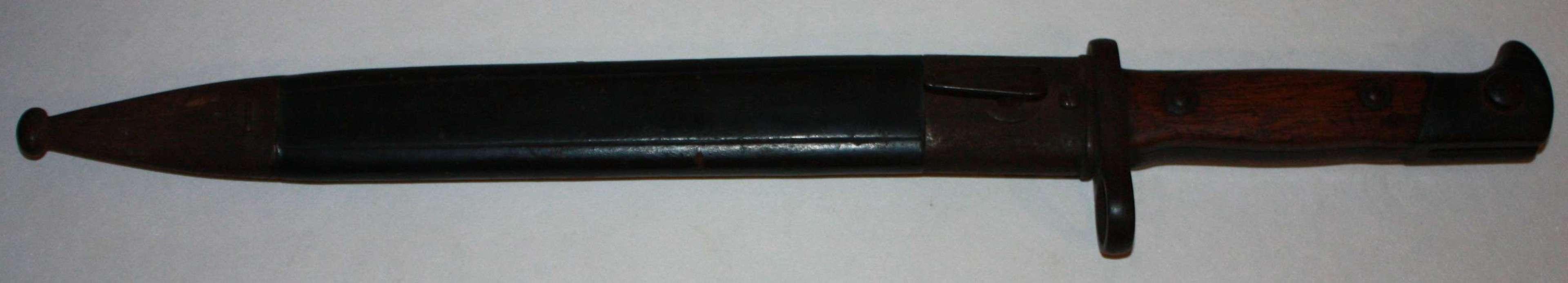 A GERMAN  M 1884 BAYONET MADE BY WEYERSBERG KIRSCHBAUM SOLINGEN