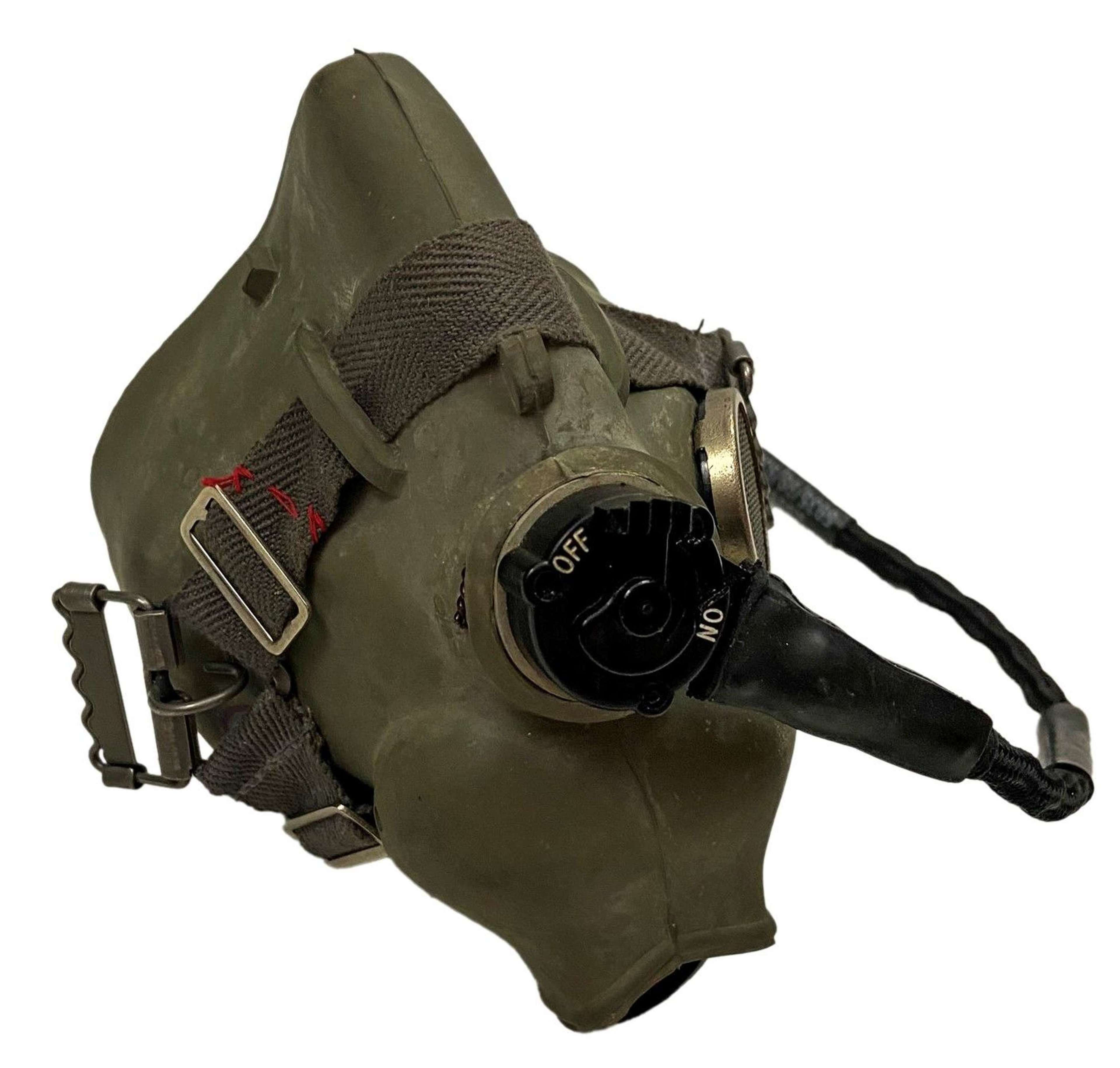 Original 1967 Dated RAF H Type Oxygen Mask - Size Medium