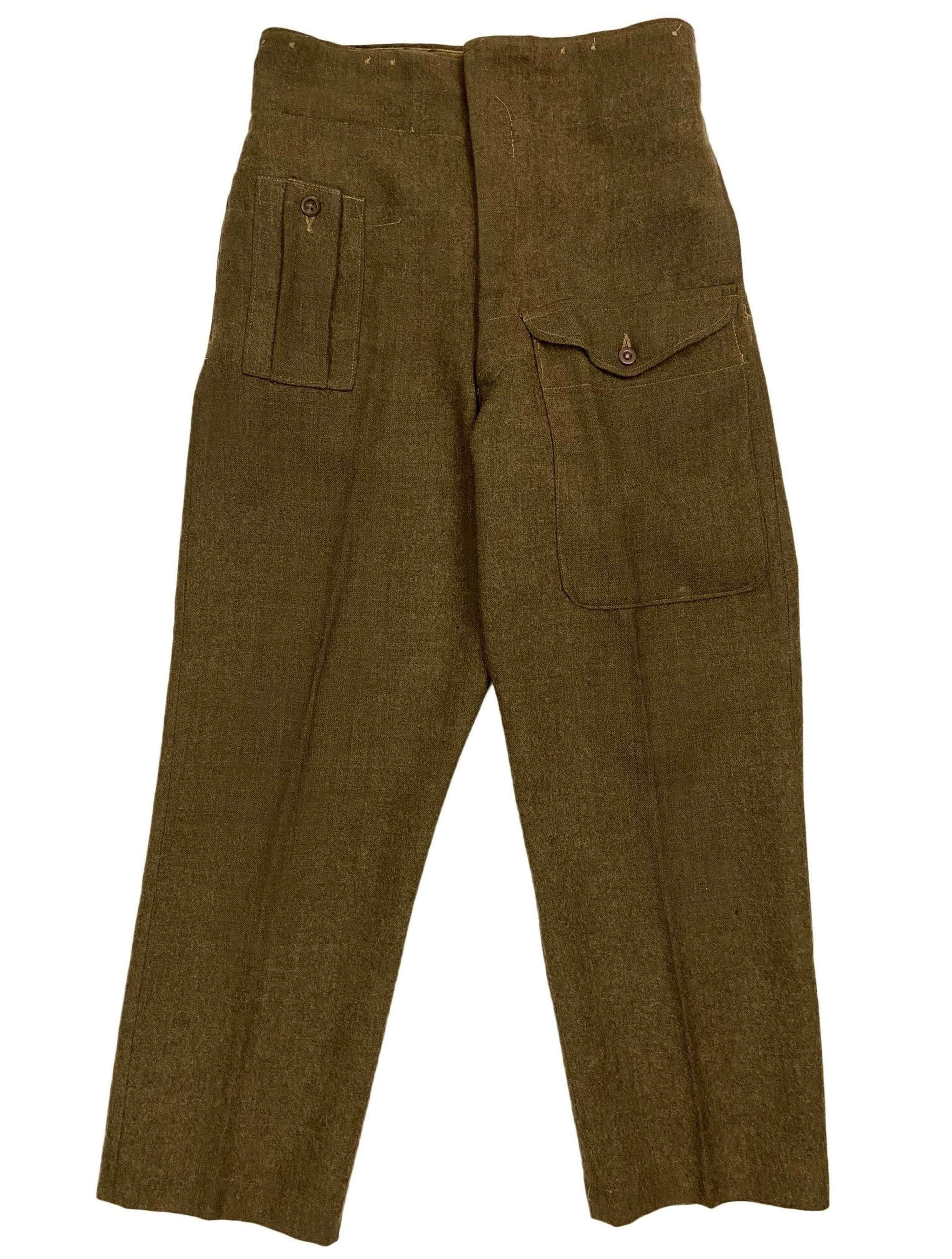 Original 1946 Pattern British Army Battledress Trousers - Size 11