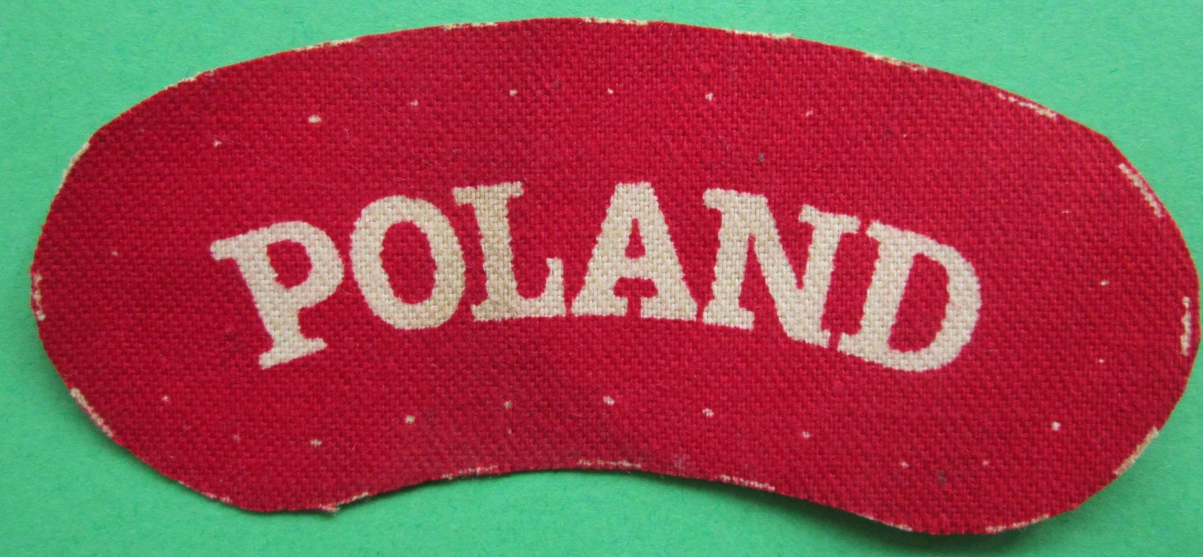 A POLAND SHOULDER TITLE