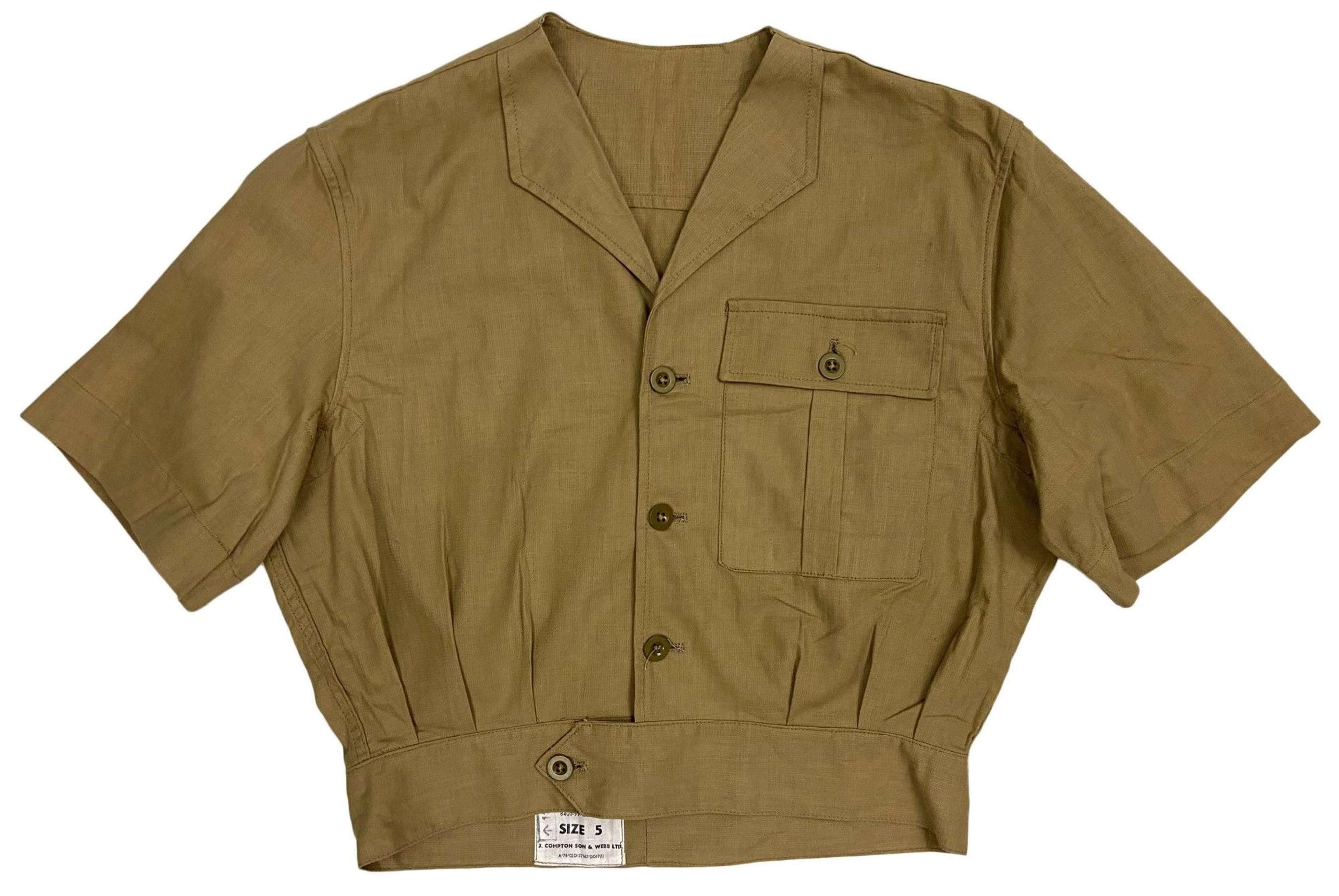Original 1960s RAF Khaki Drill Combination Suit Jacket