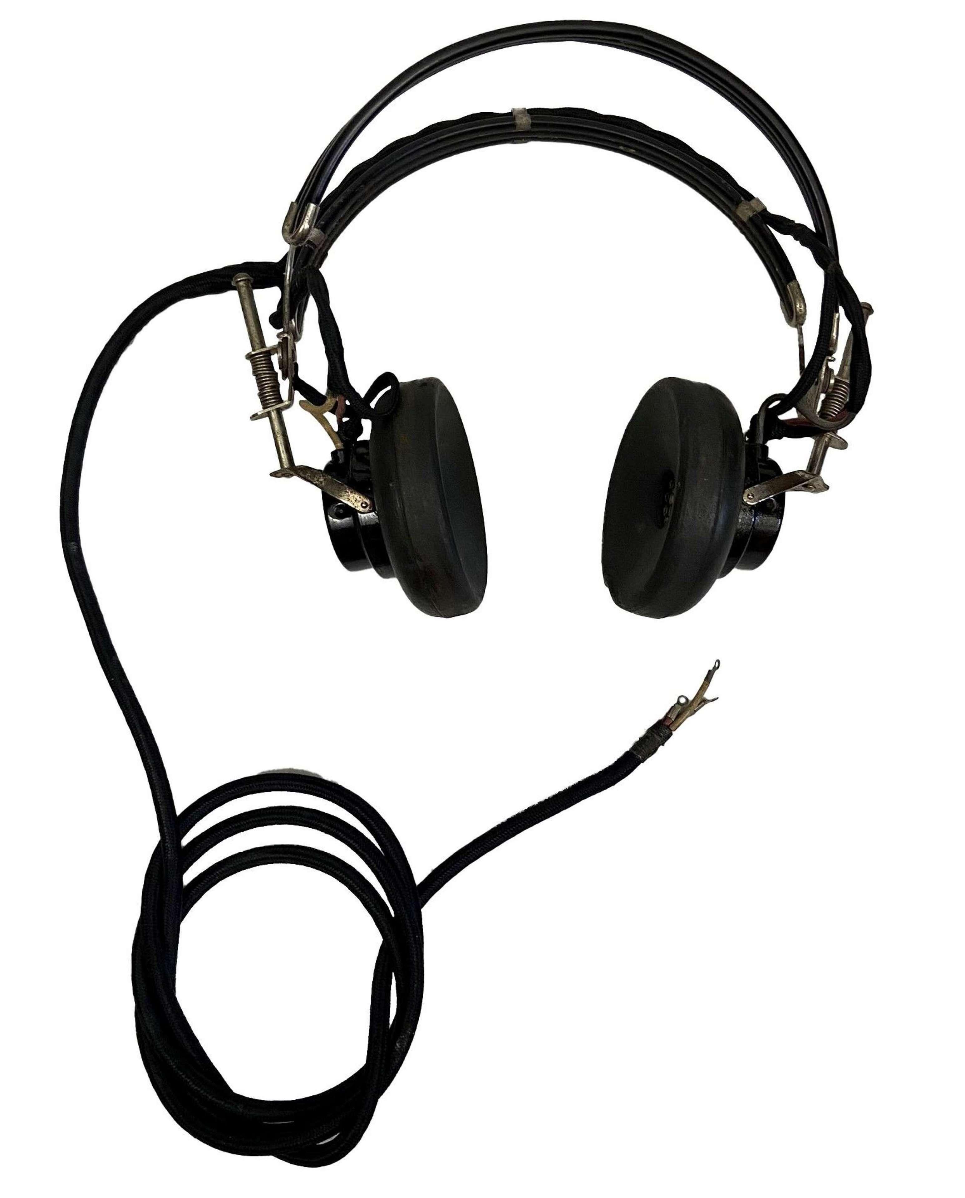Post WW2 US Made Radio Headset