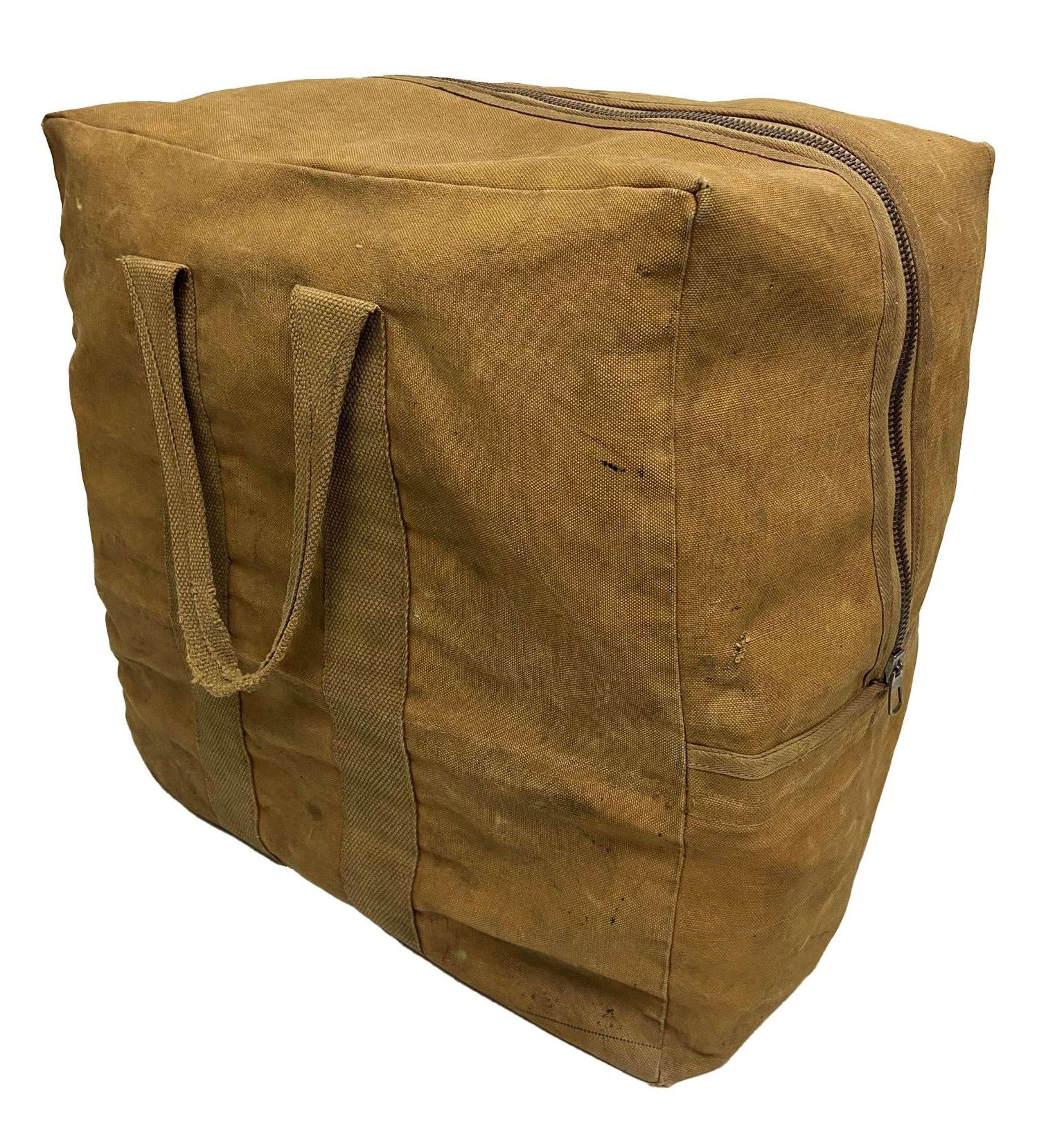 Original WW2 RAF Parachute Bag - Squadron Leader Laurie