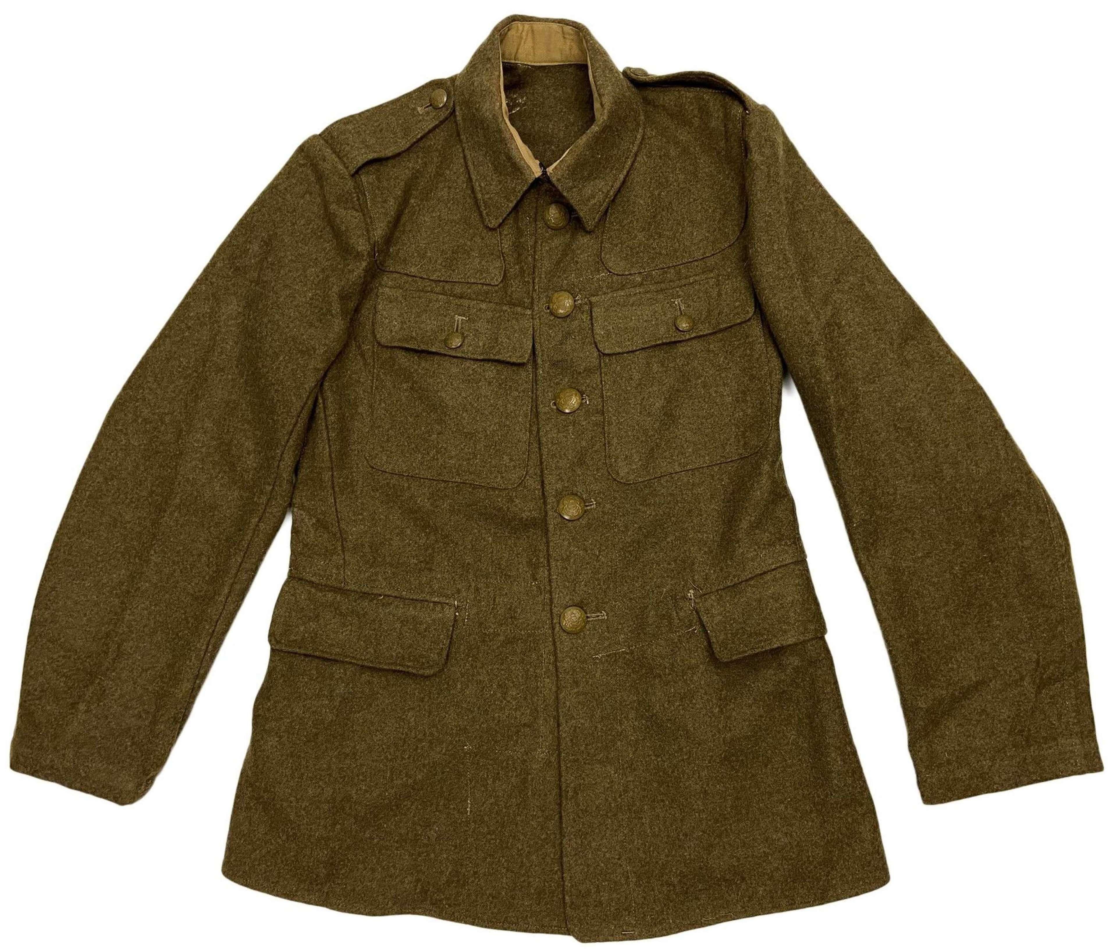 Original 1943 Dated British Army Service Dress Tunic - Size 14