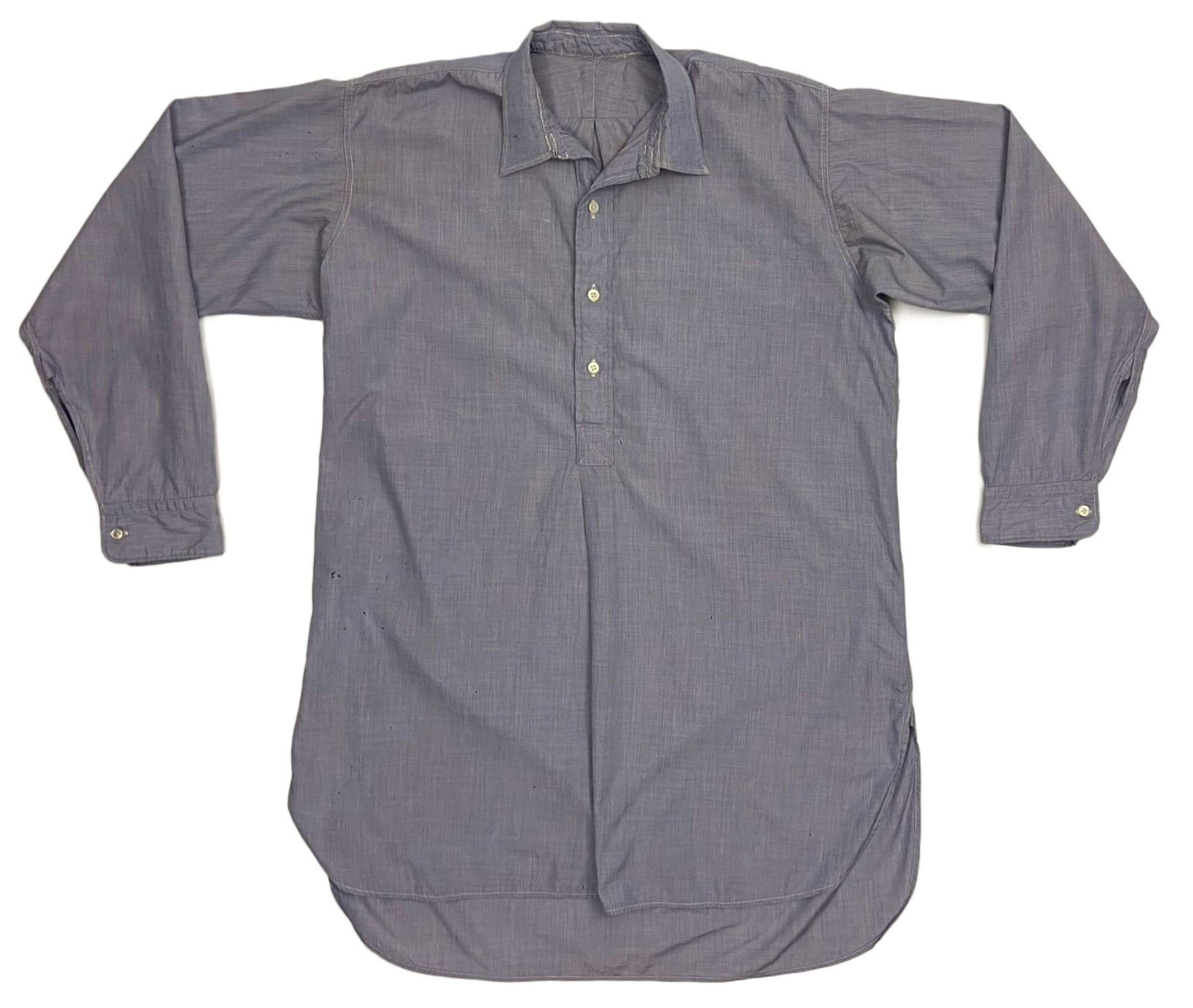 Original 1953 Dated RAF Officers Shirt - Size 15 1/2