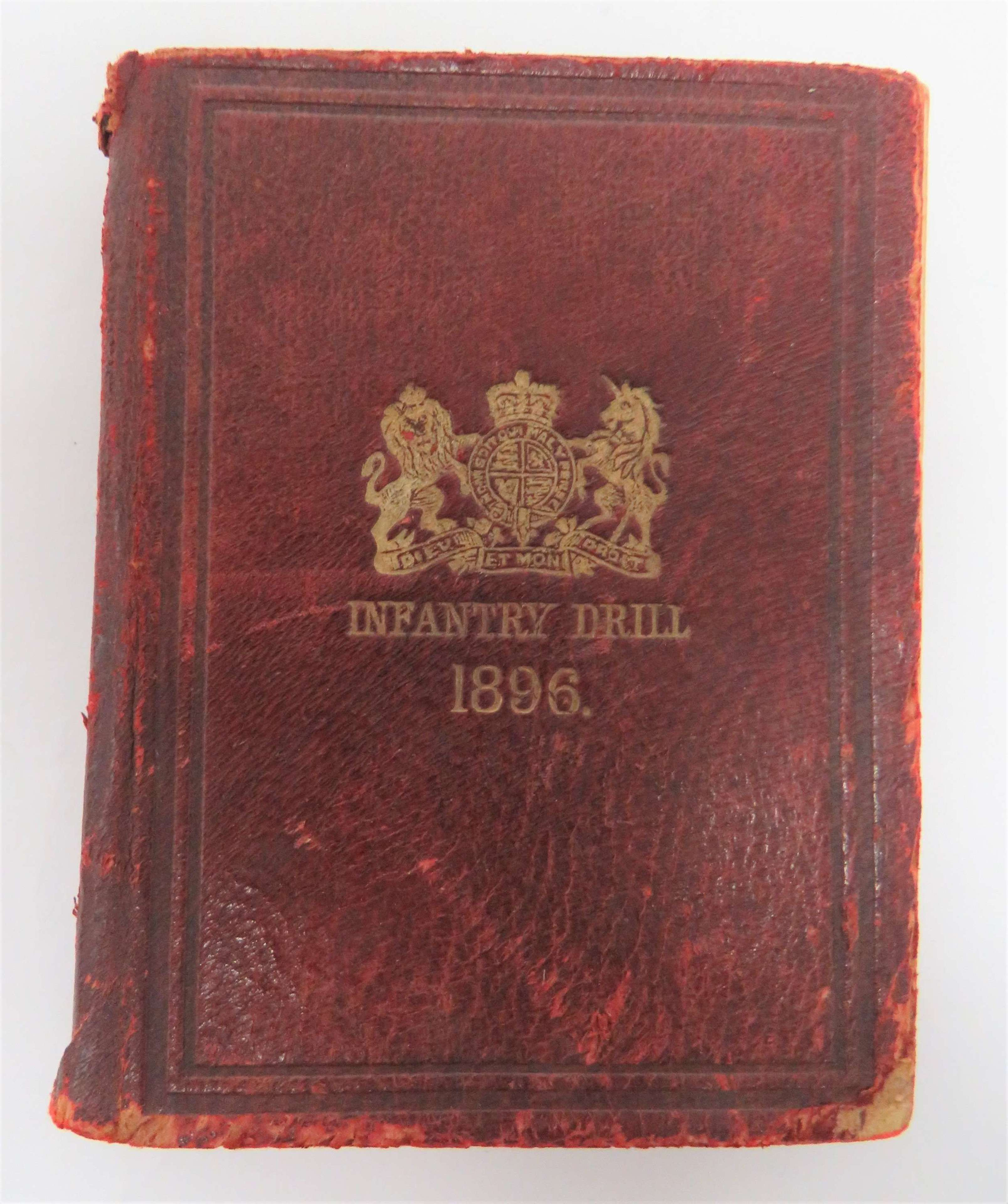 Victorian 1896 Infantry Drill Book
