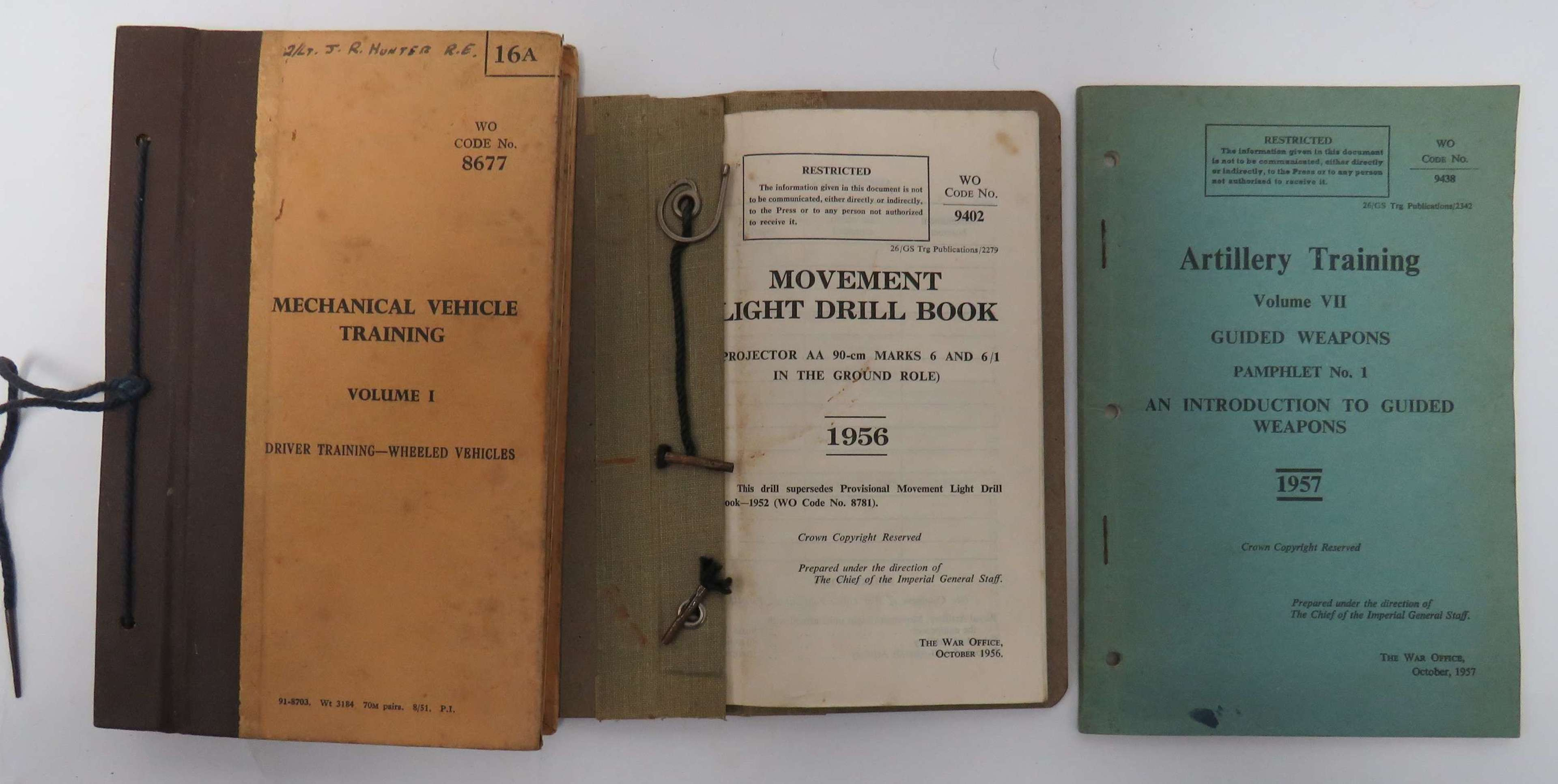 Guided Missiles and Other Manuals