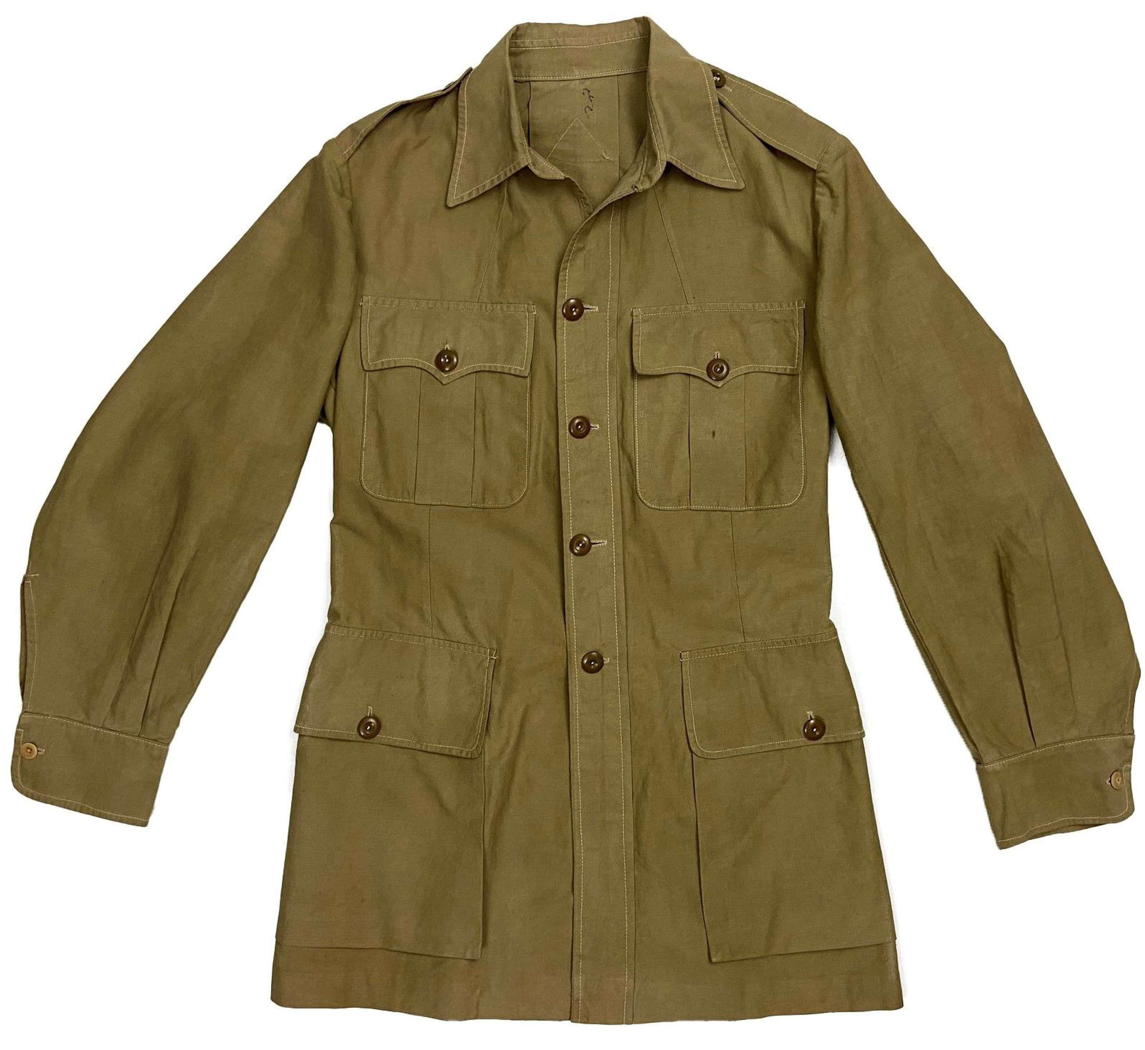 Original 1940s Theatre Made British Bush Jacket