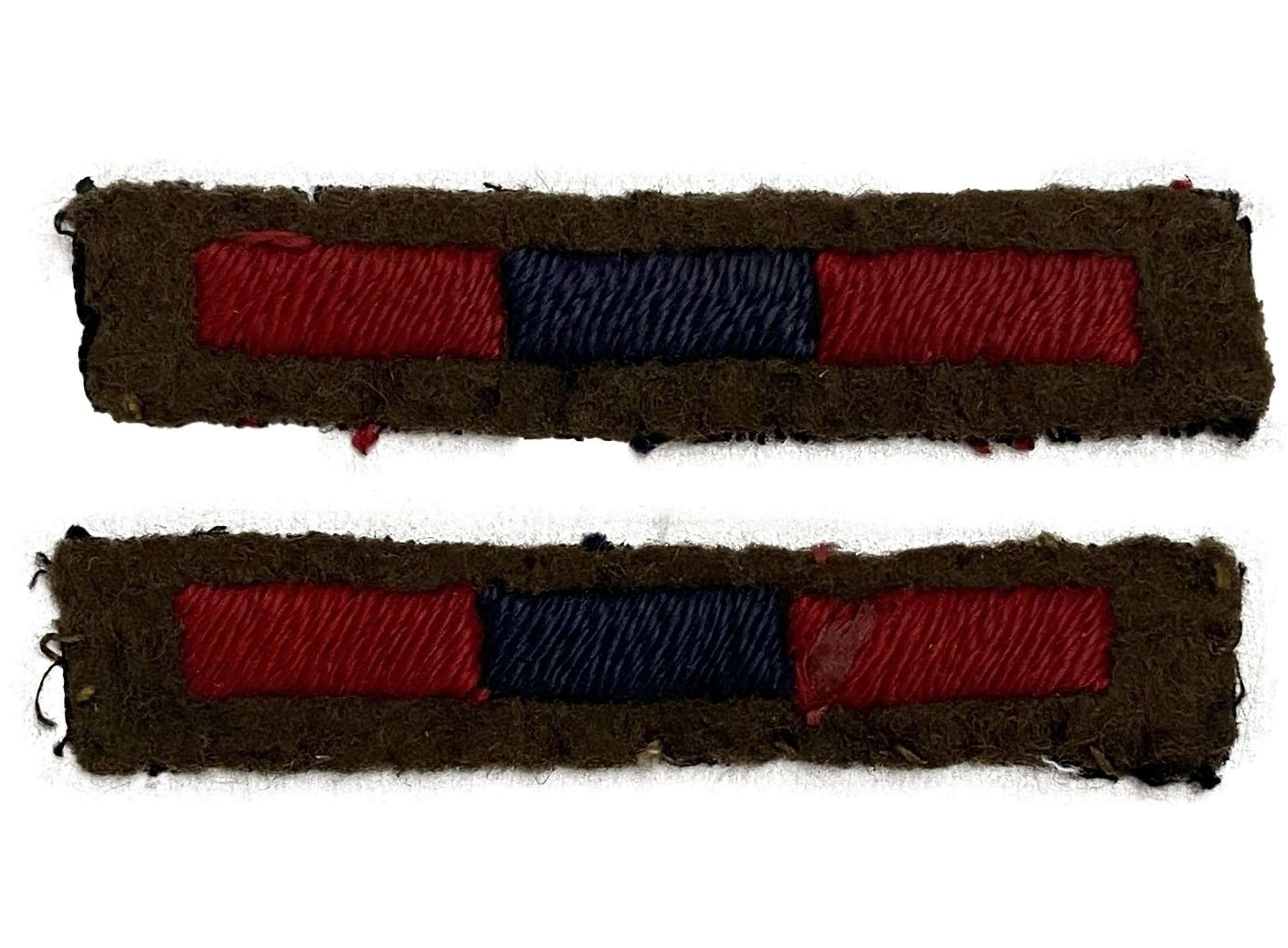 Original Royal Army Ordnance Corps Arm of Service Stripes