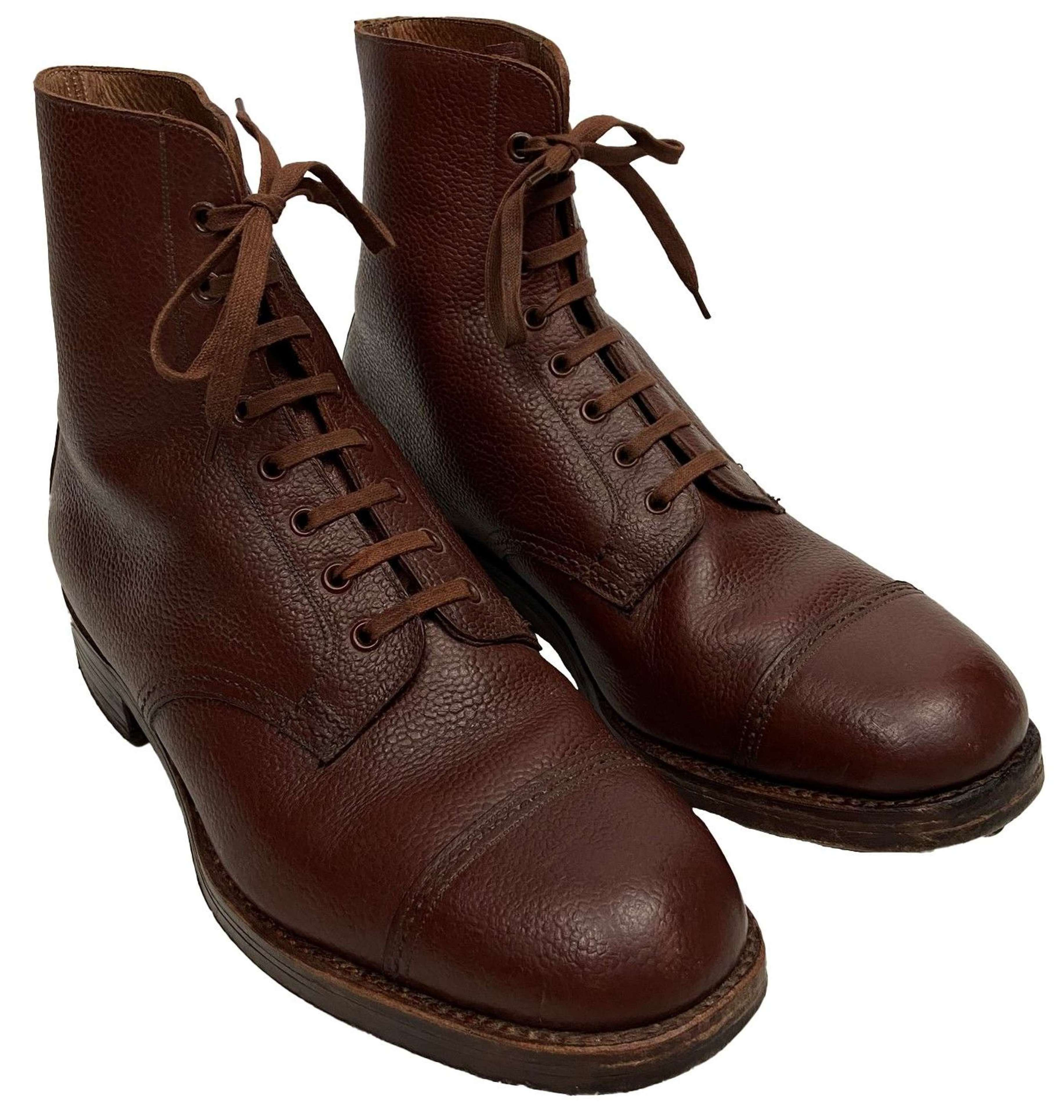 Stunning Original CC41 Men's Brown Leather Ankle Boots - Size 8