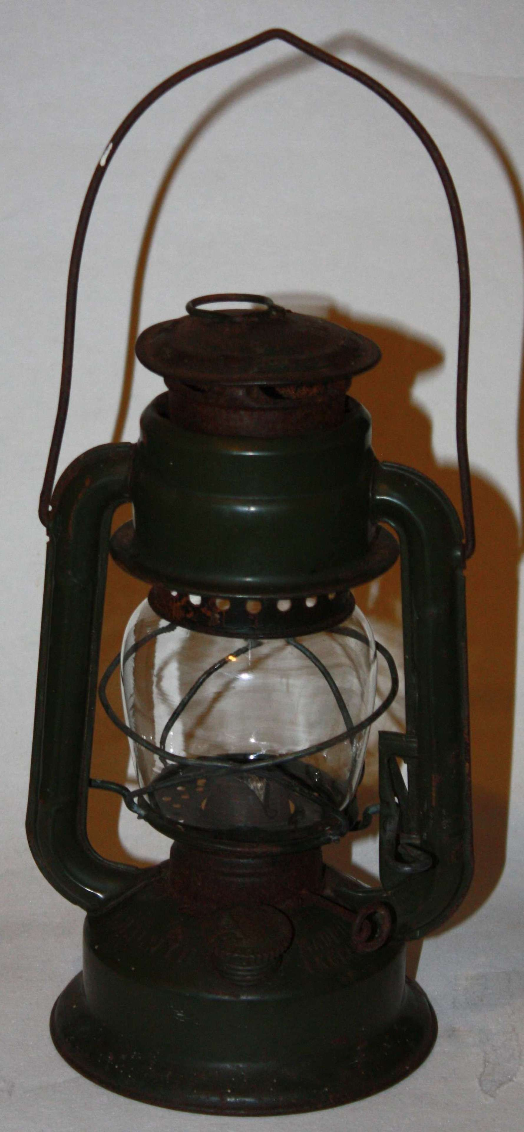 A RAF AM MARKED HURRICAN LAMP