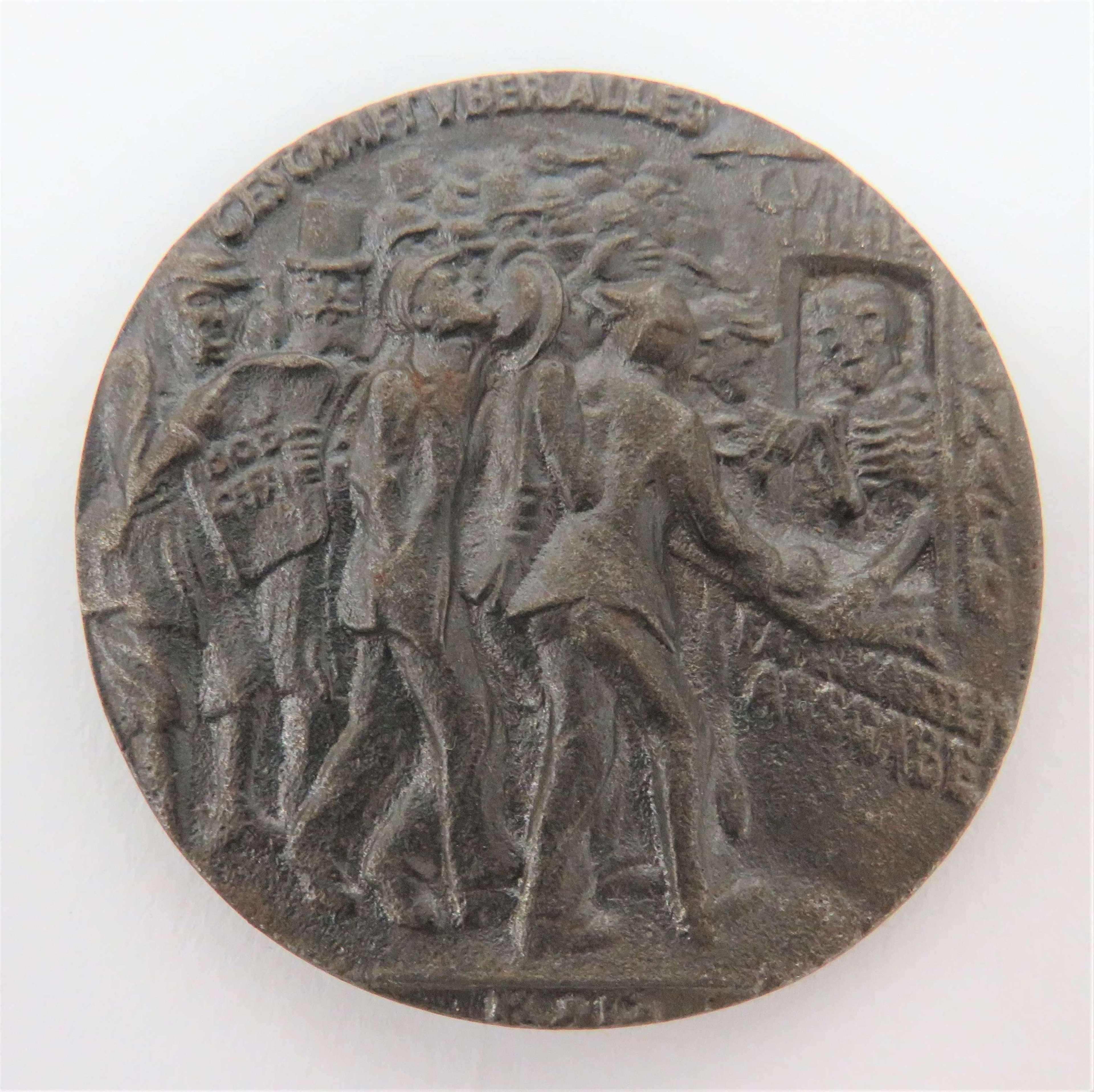 RMS Lusitania Sinking 1915 Commemorative Medallion