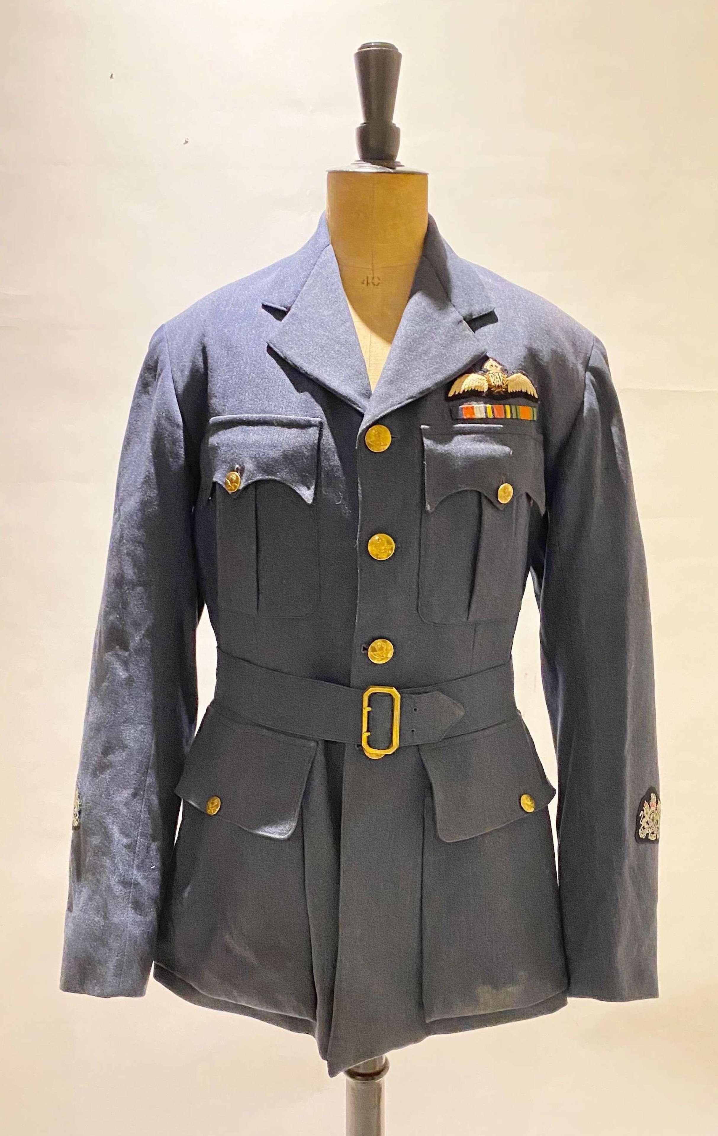WW2 RAF Far East Burma Campaign Pilots Tunic.