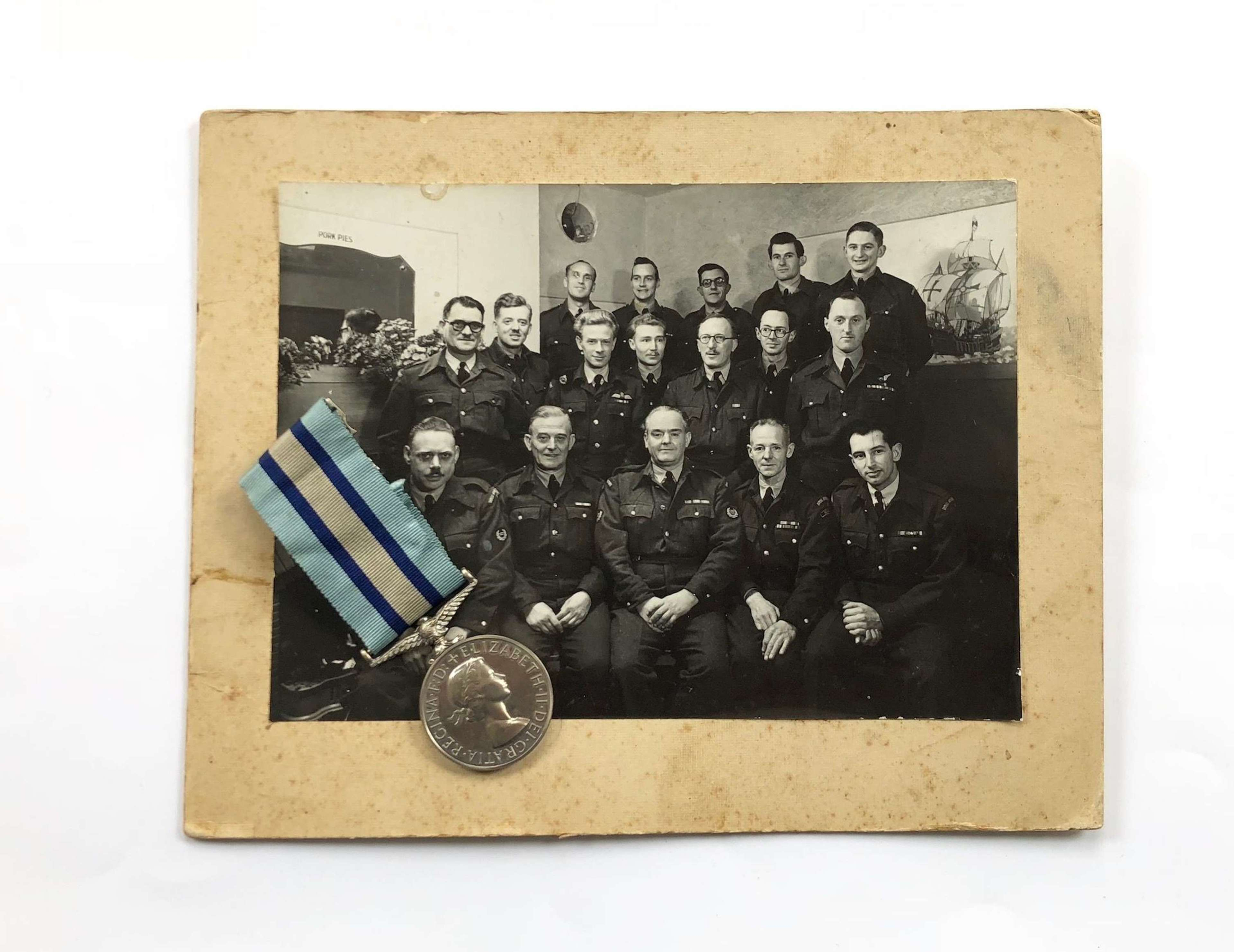 Cold War Staffordshire / Northamptonshire Royal Observer Corps Medal