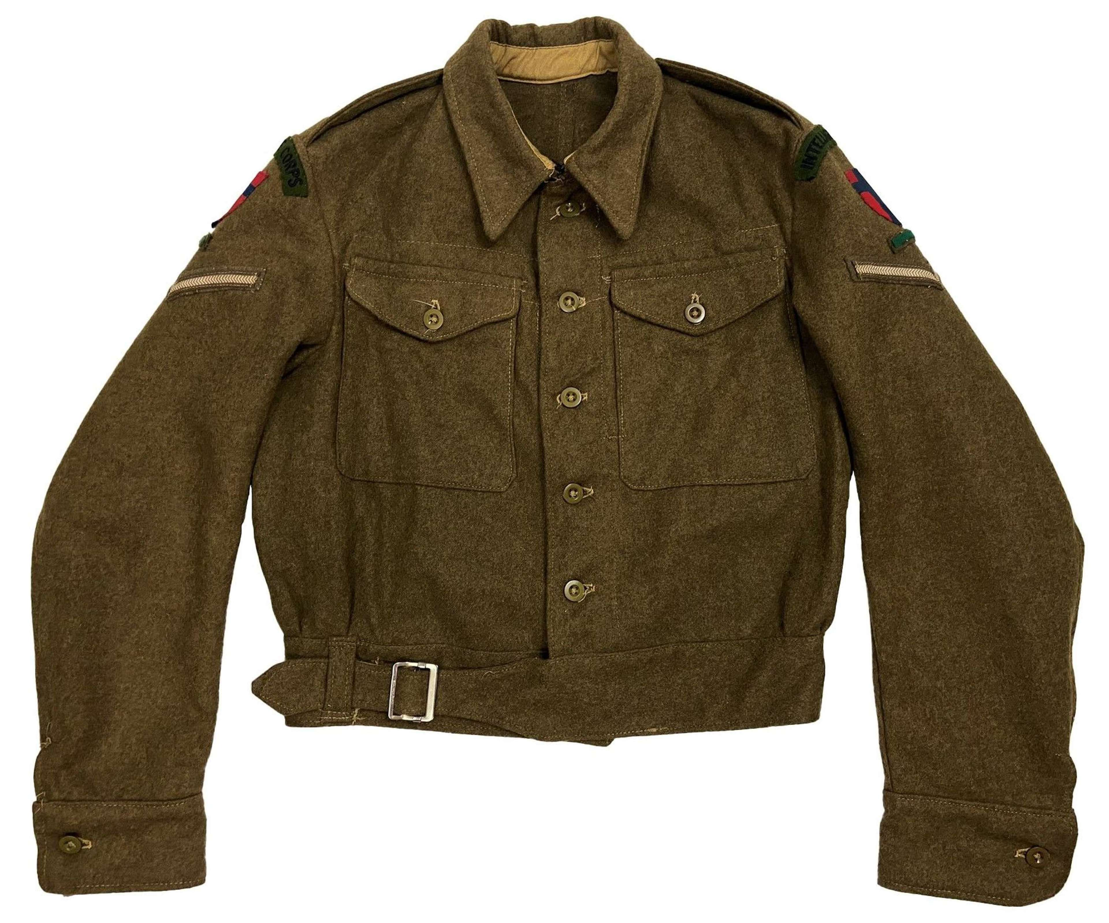 Original 1940 Pattern Austerity Battledress Blouse Intelligence Corps