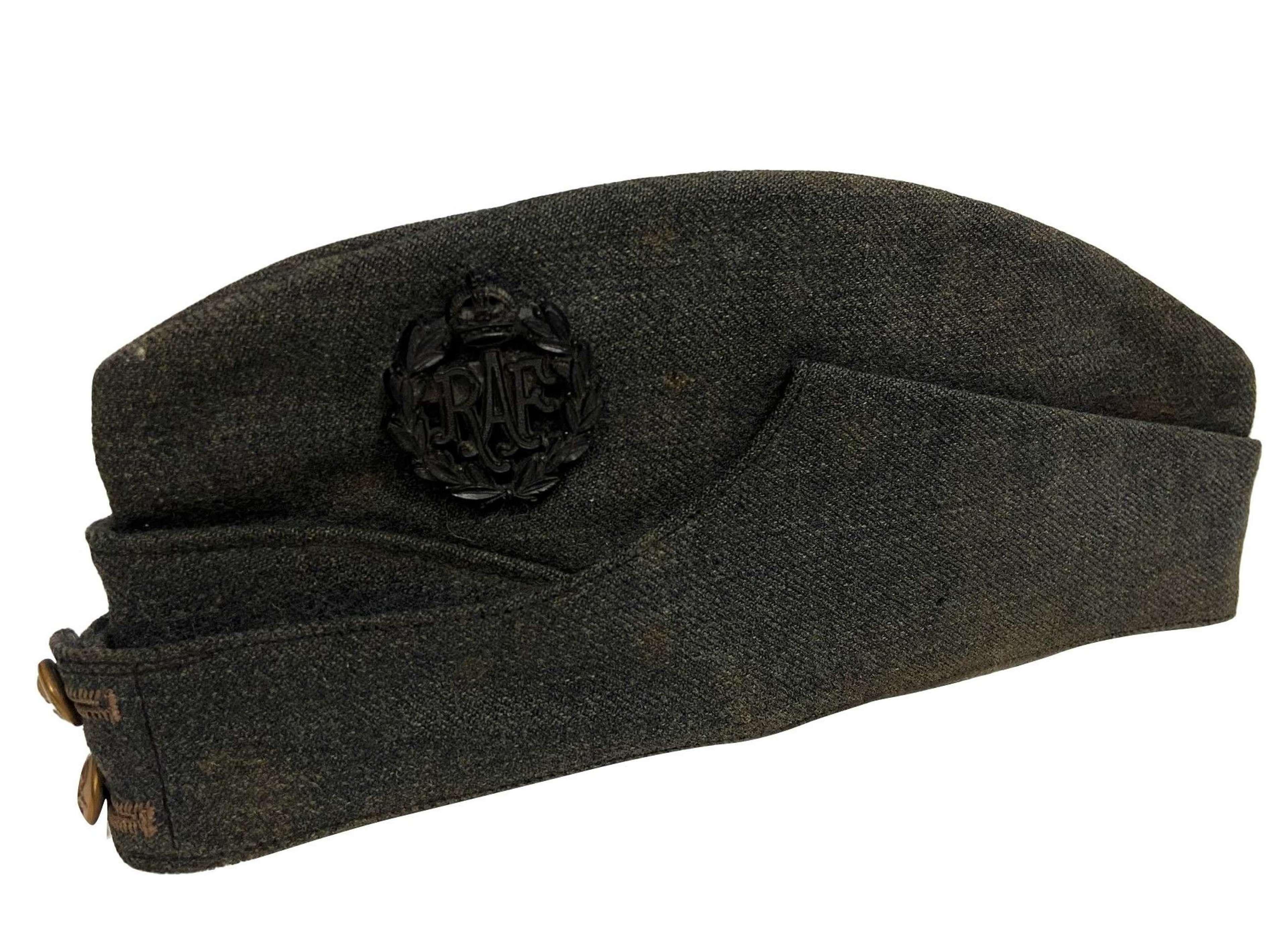 Original WW2 RAF Ordinary Airman's Forage Cap - Miles