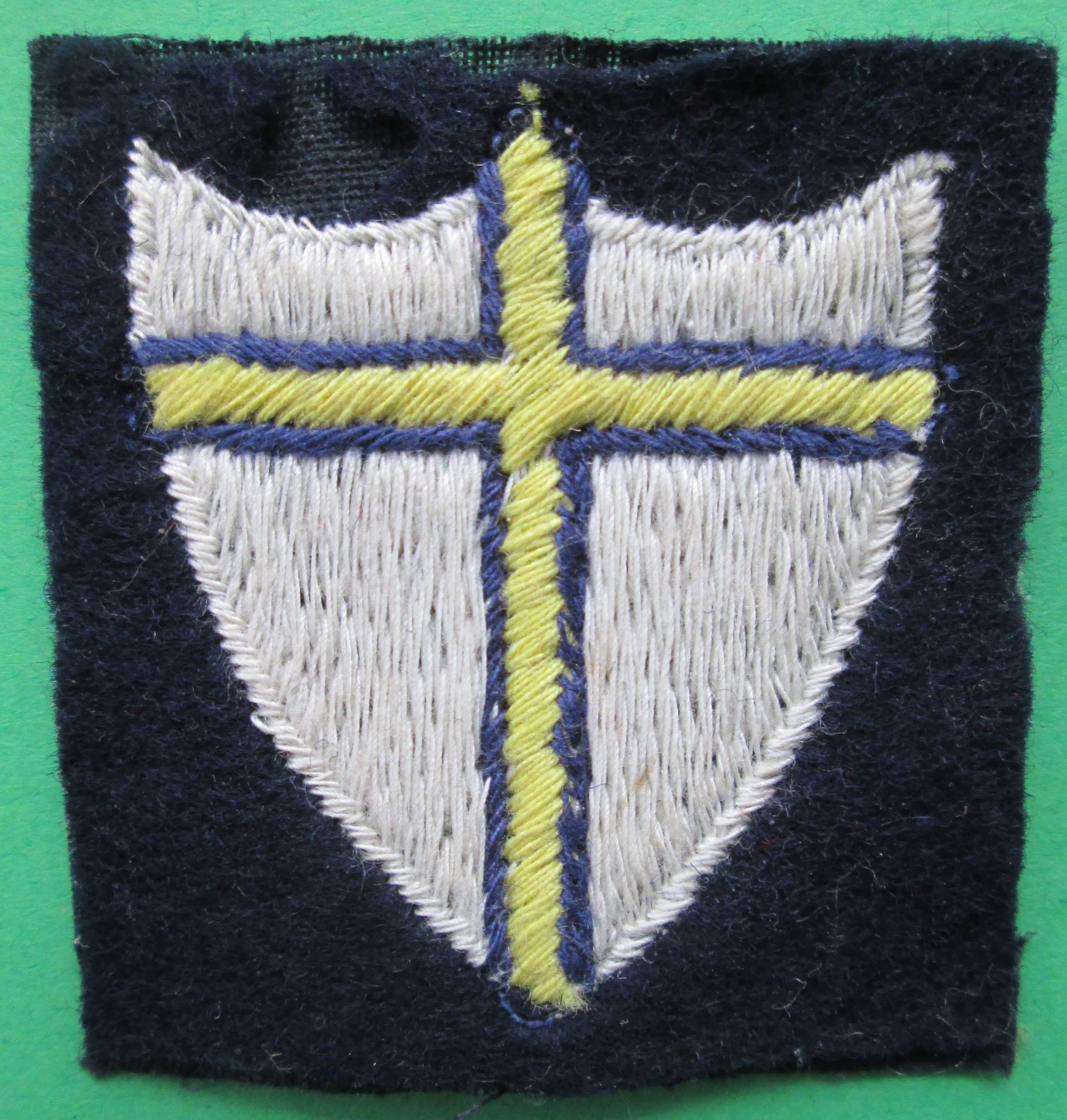 WWII PERIOD 8TH ARMY FORMATION SIGN