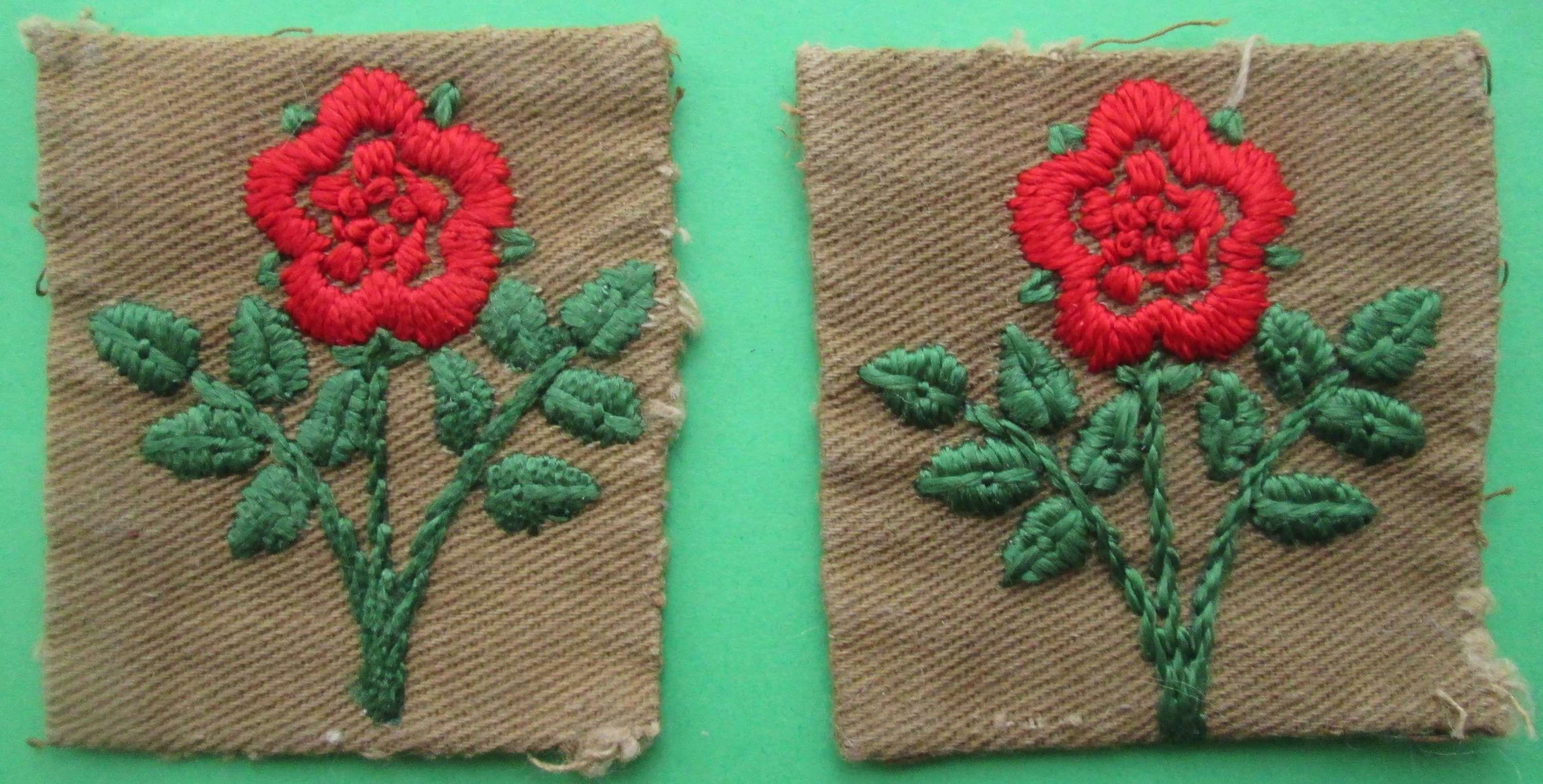 55th(WEST LANCASHIRE) DIVISION 2ND PATTERN FORMATION SIGNS