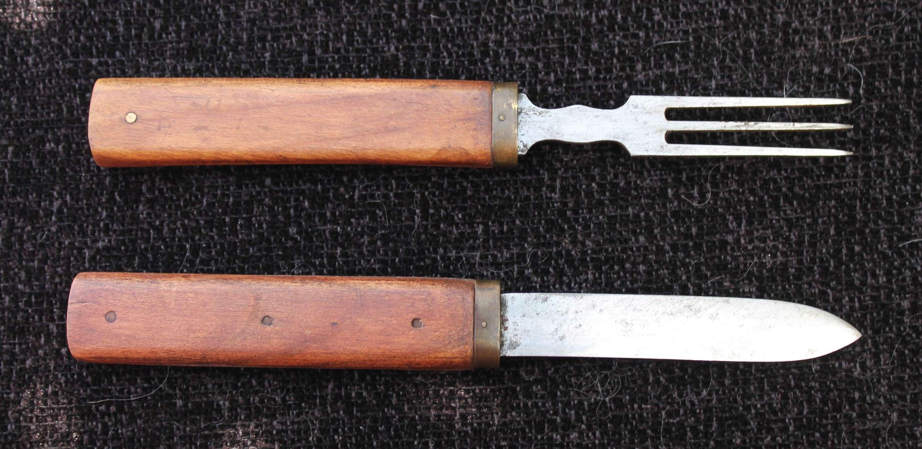 Officers Campaign Knife&Fork Set