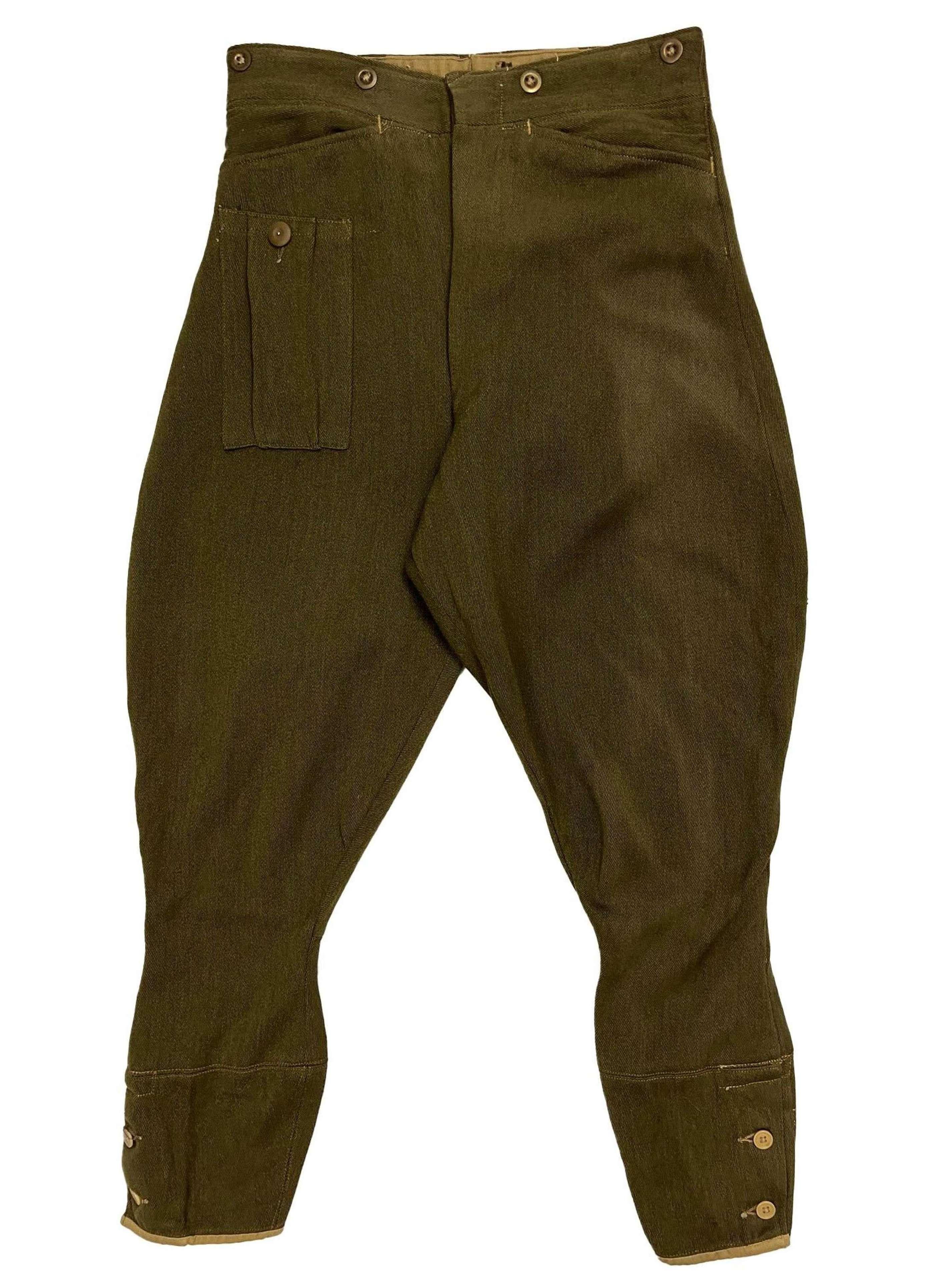 Original 1941 Dated British Army Dispatch Riders Breeches - Size 4