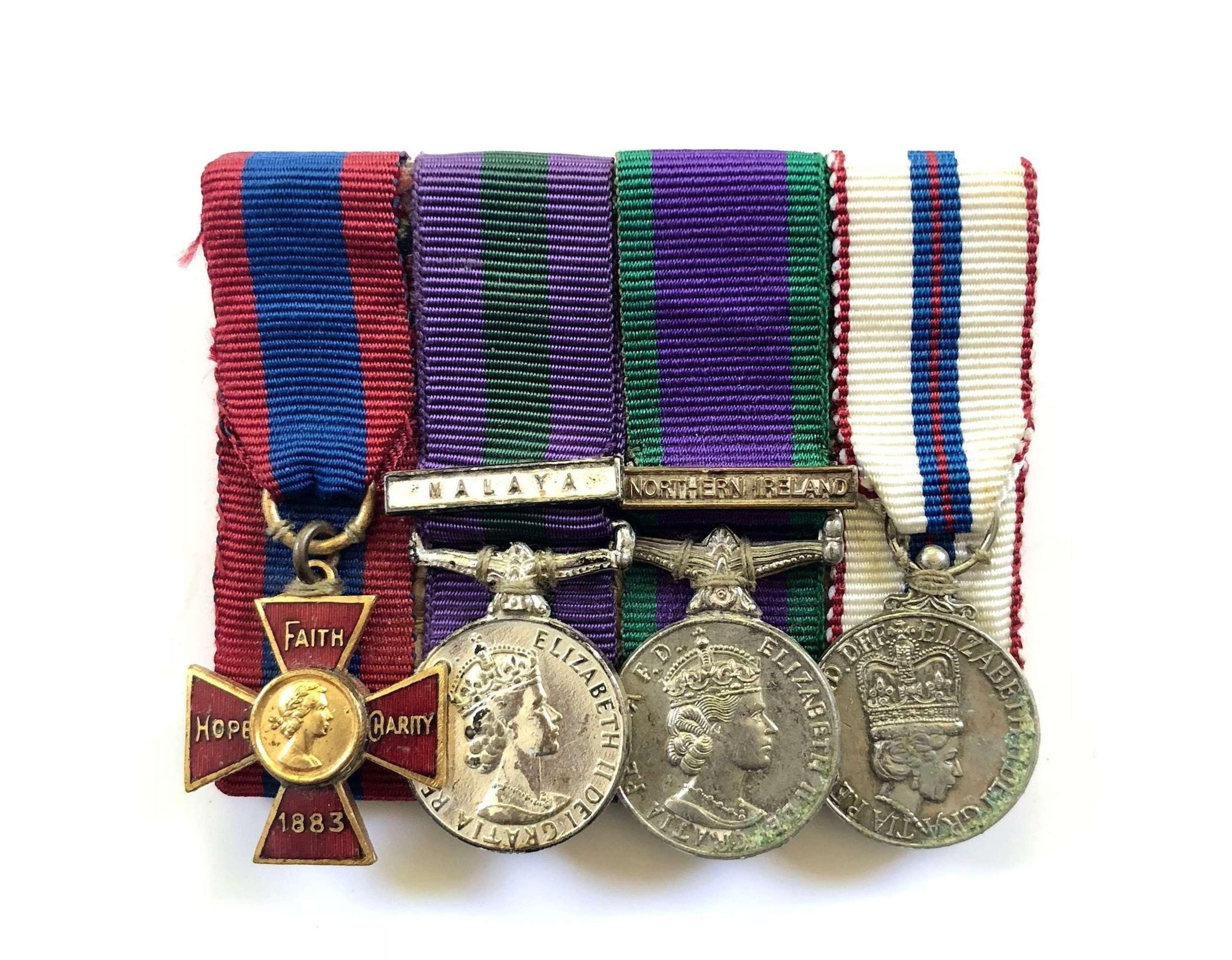 Cold War Senior Military Nurse Royal Red Cross Miniature Medal Group