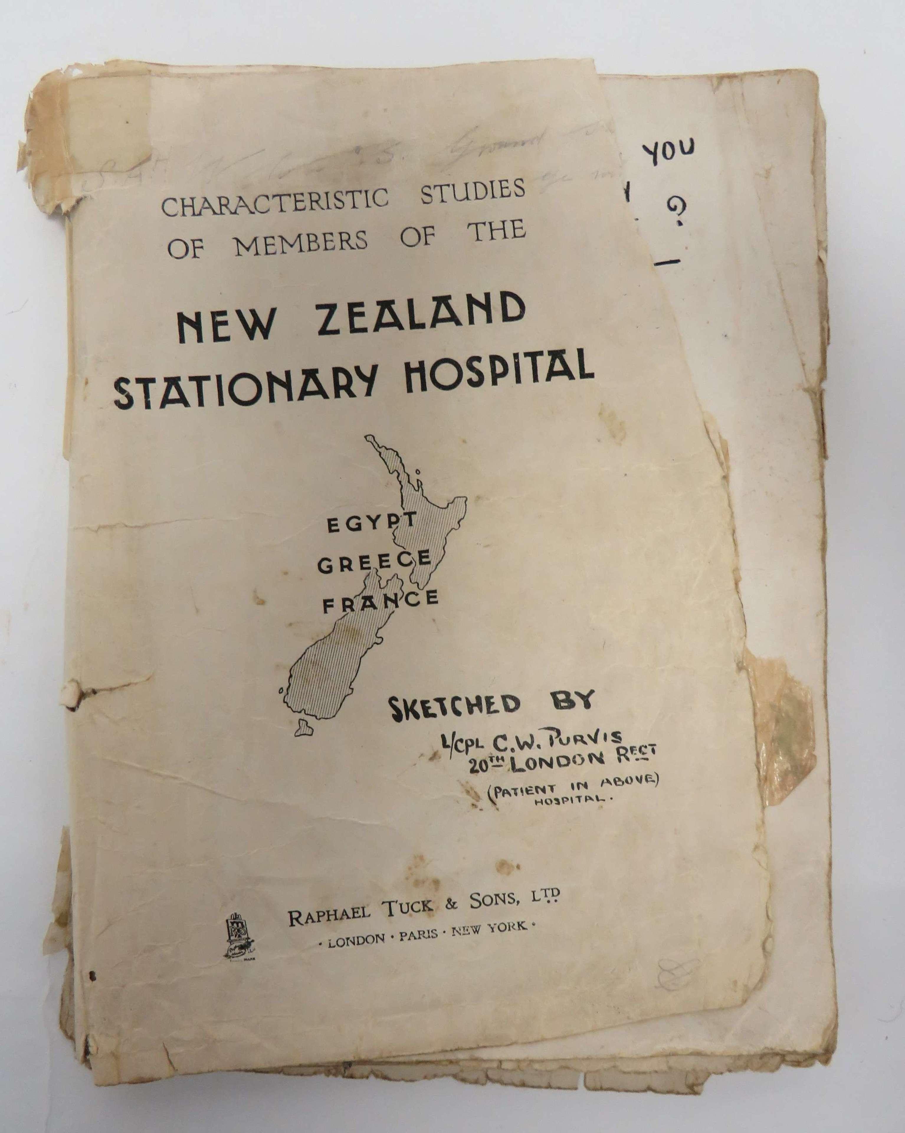 WW1 New Zealand Stationary Hospital