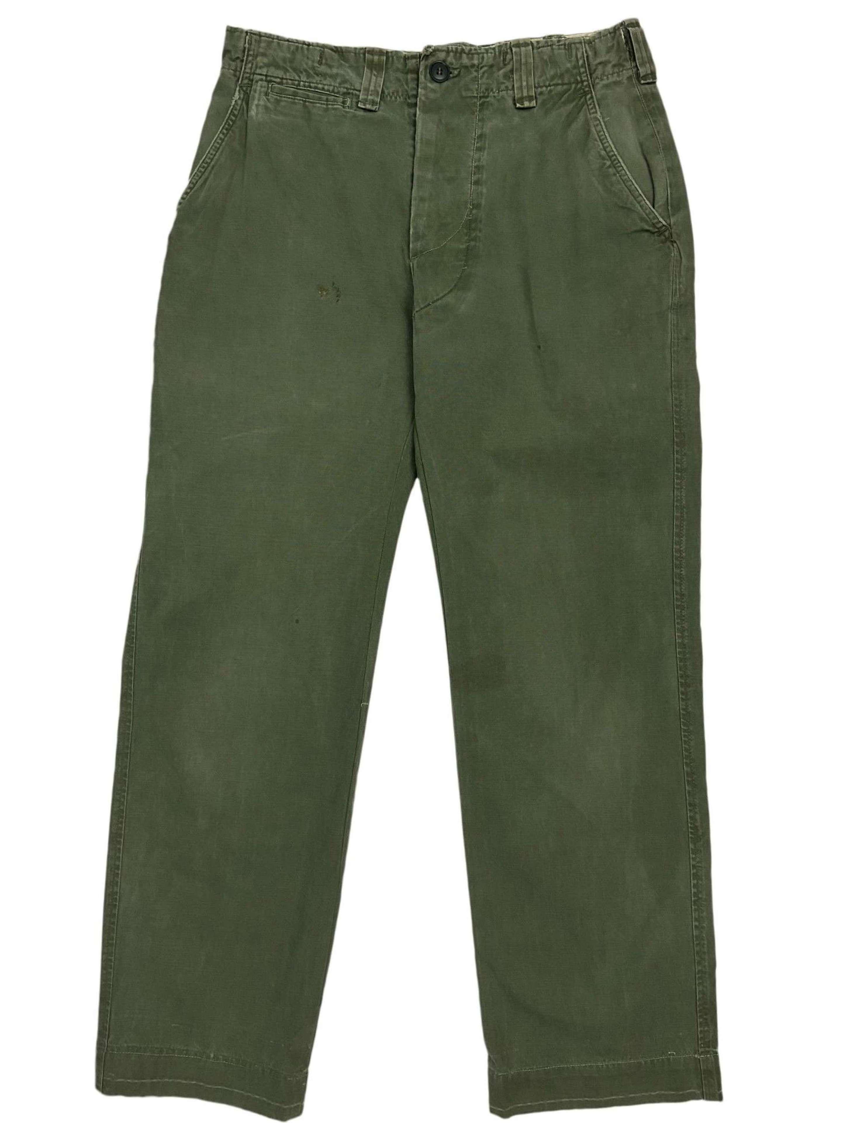 Original WW2 US Army M43 Combat Trousers - 30x28