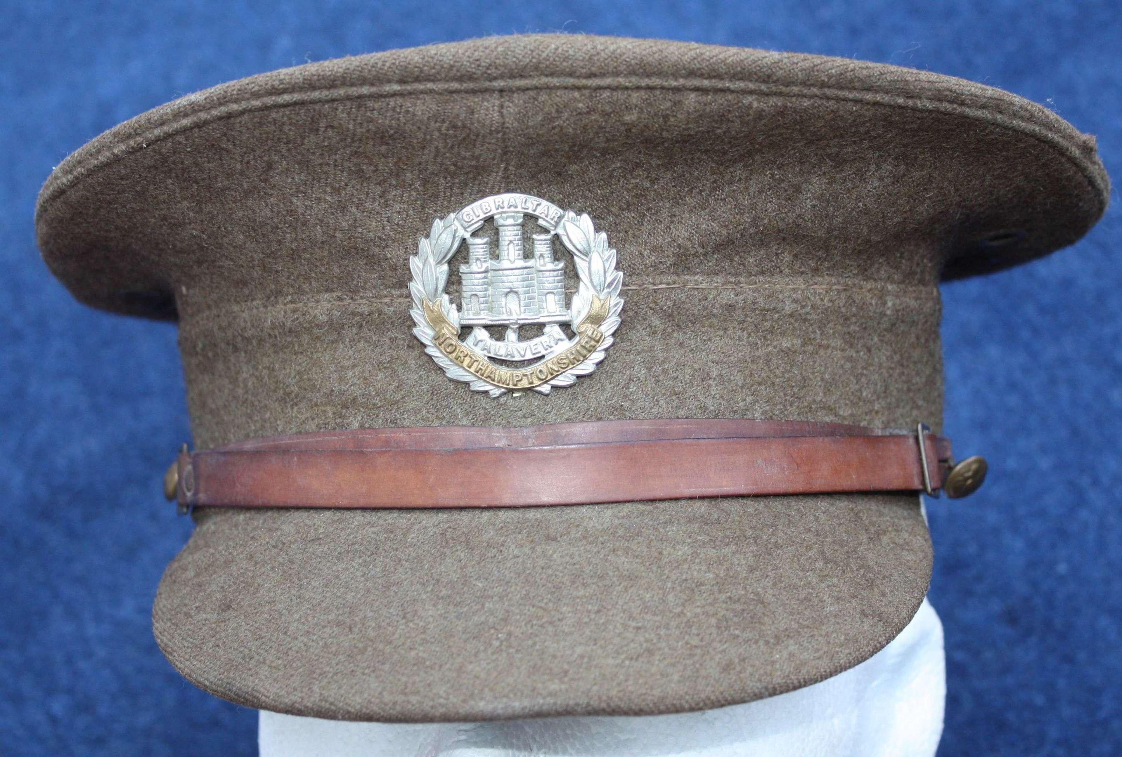 British Inter War Khaki Service Dress O/R cap. 1922 Pattern