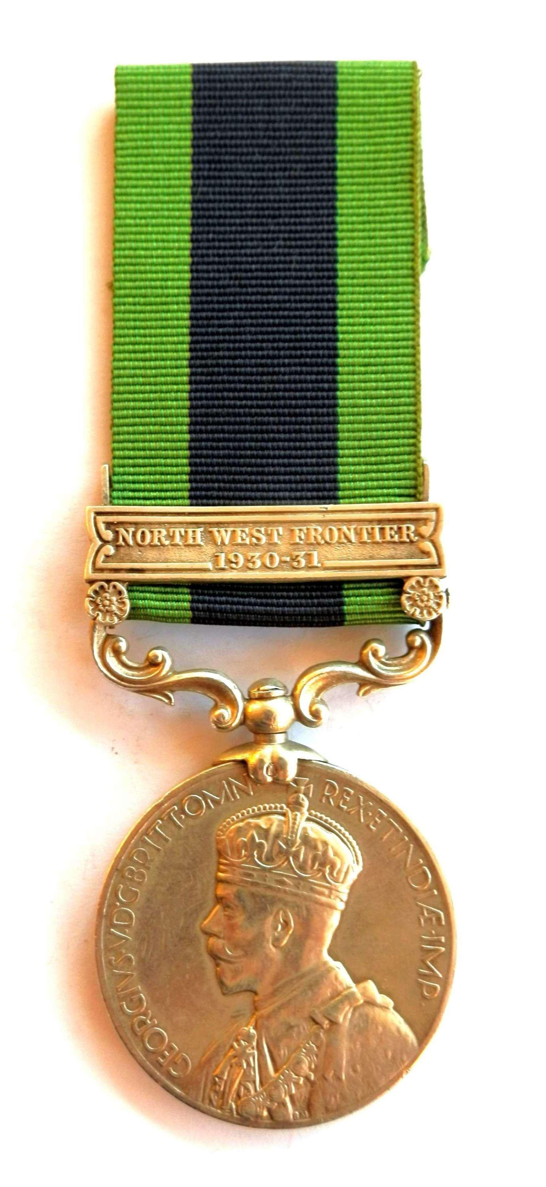 Indian General Service 1908. RSLDR Haji Ahmad P.A.V.O. Cavalry.