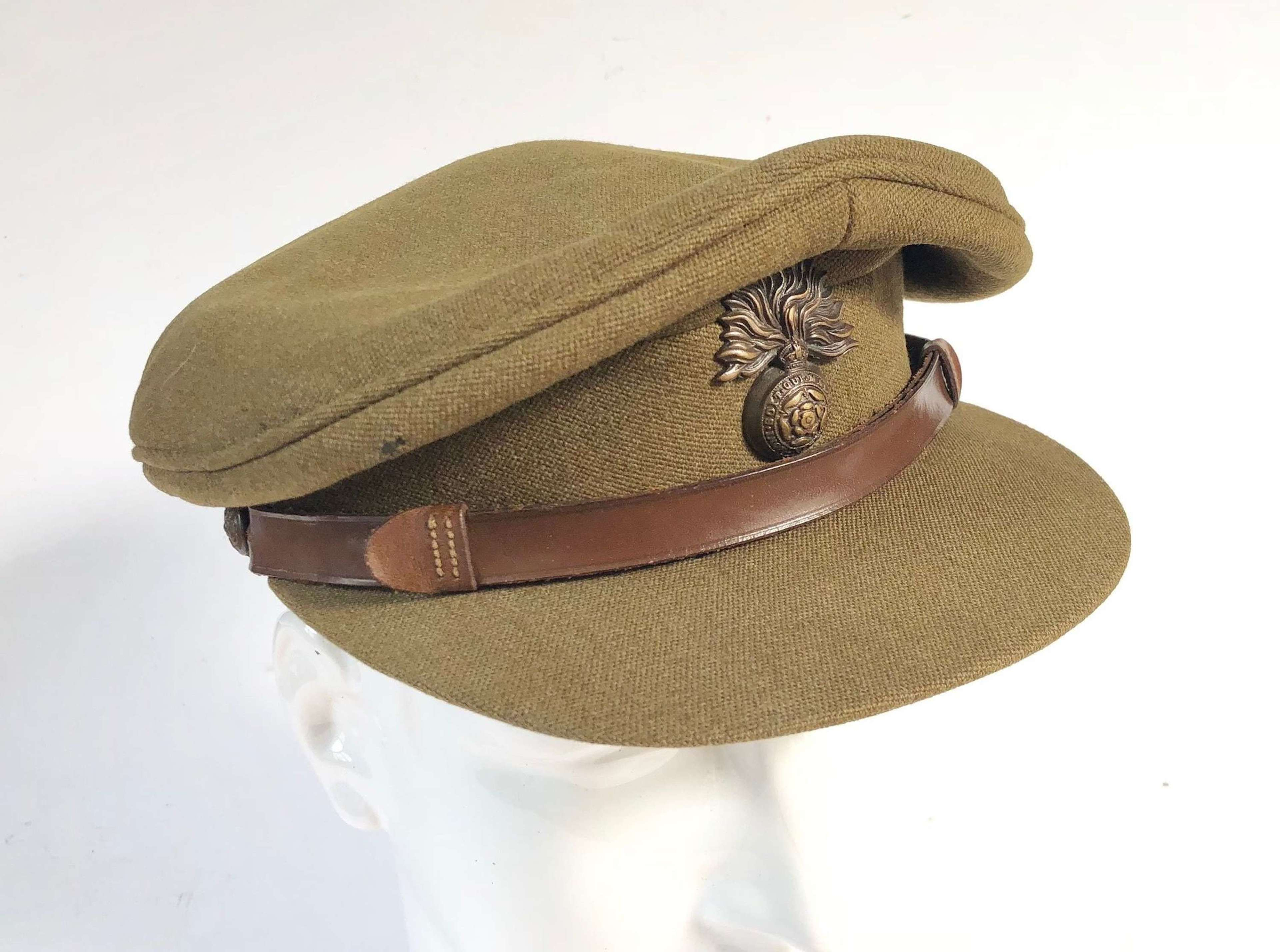 WW2 Period Royal Fusiliers Officer's Cap.