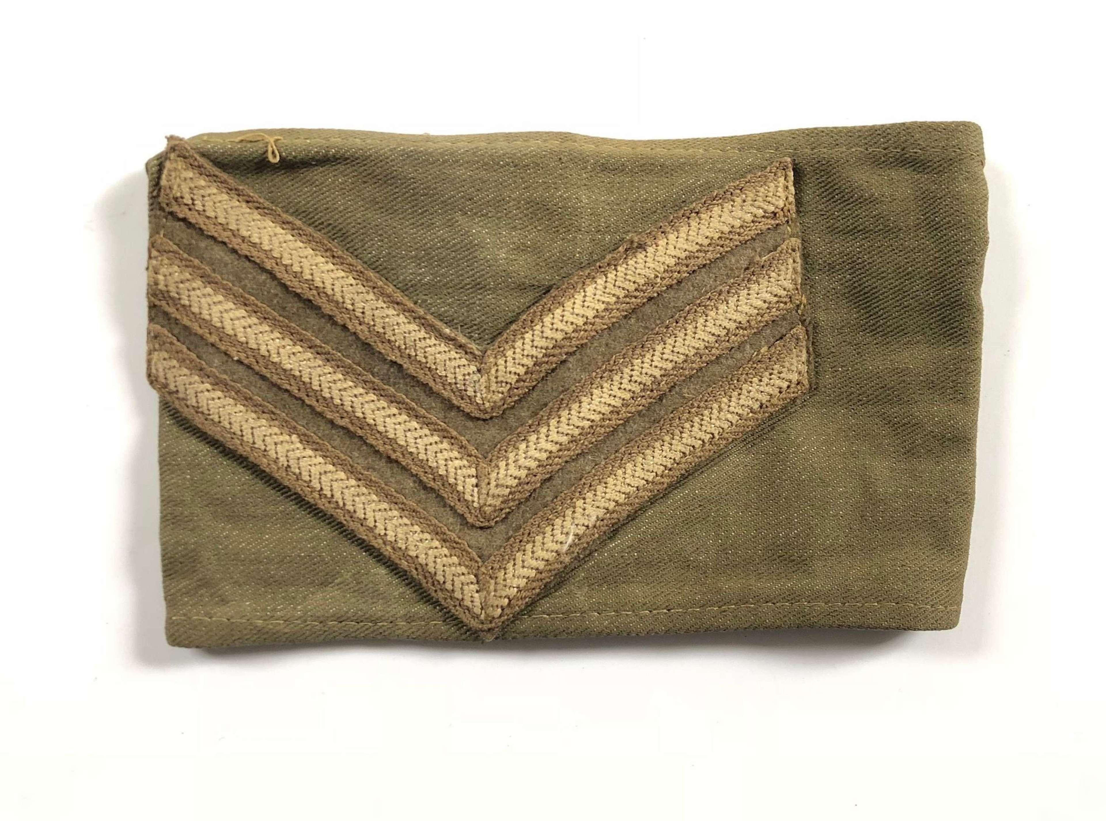 WW2 / Cold War Sergeant Armband.