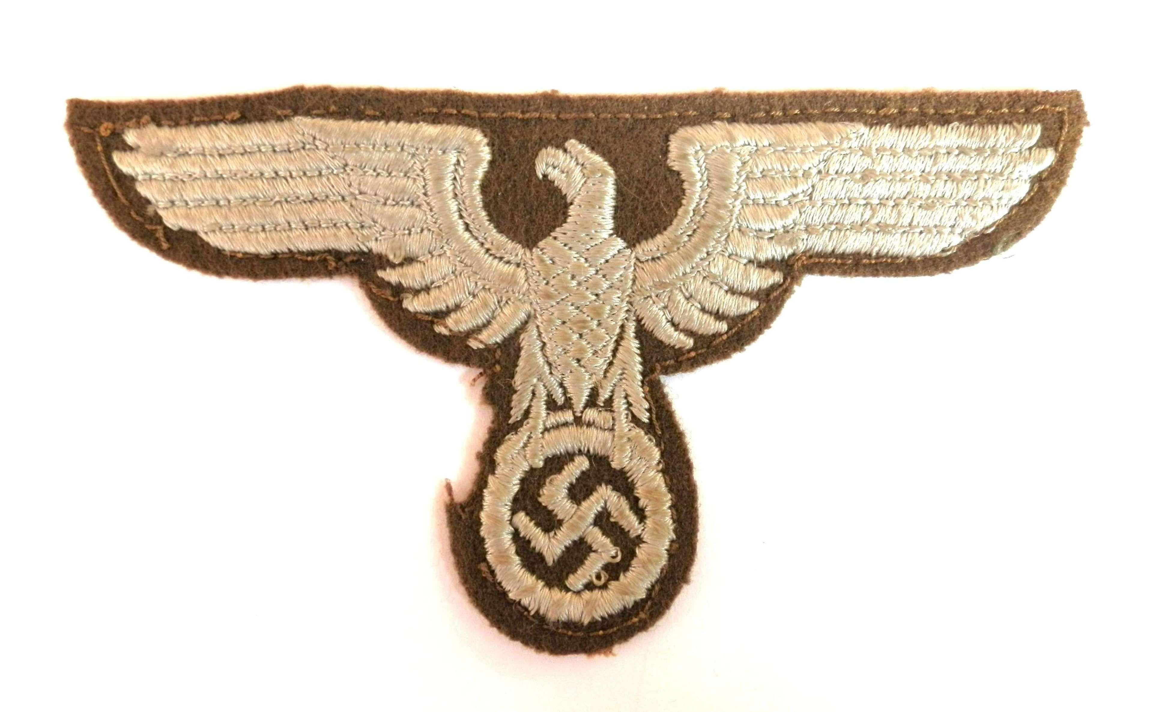 NSDAP RMBO Eastern Territories Breast/Sleeve Badge.
