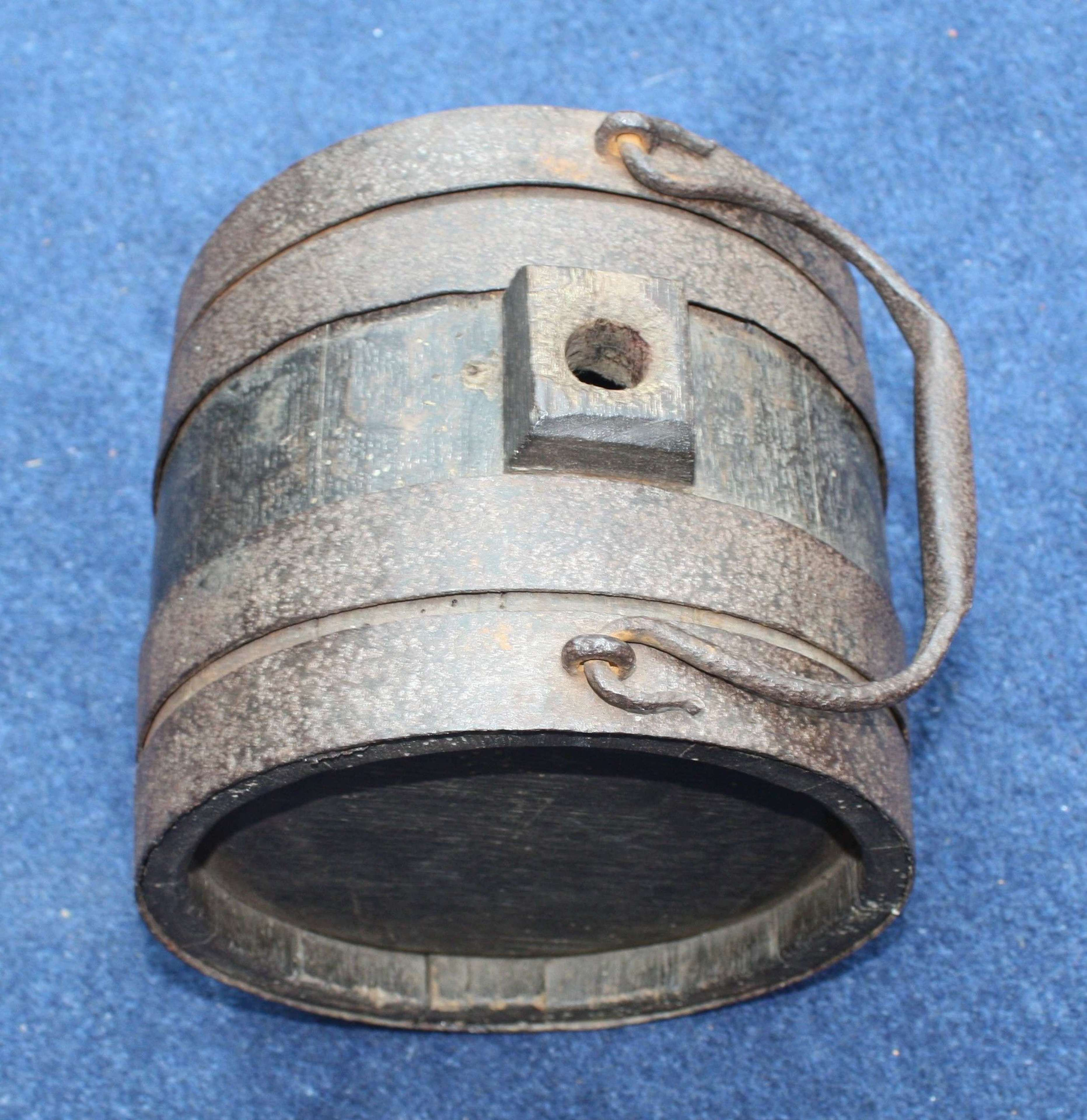 Early 19th Century Napoleonic War Water Barrel British Army SALE TO UK