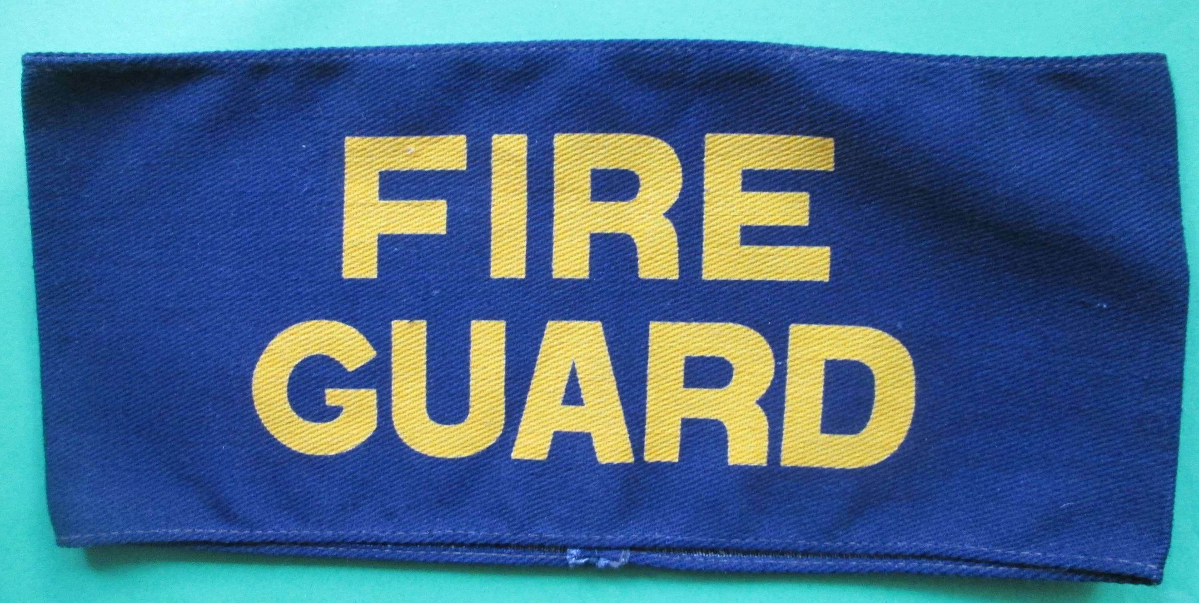 FIRE GUARD SLIP ON ARM BAND