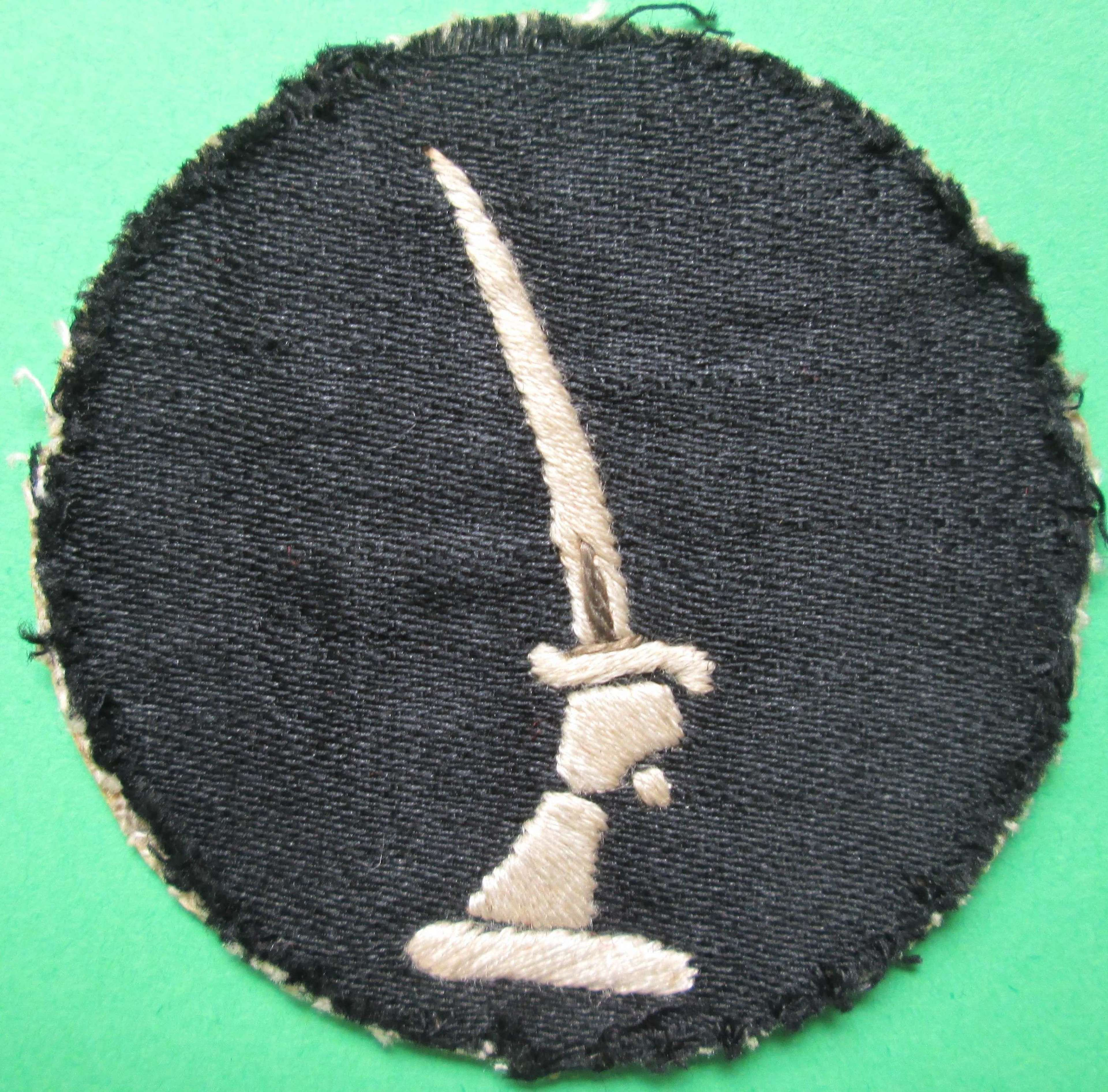 20th INDIAN INFANTRY DIVISION FORMATION SIGN