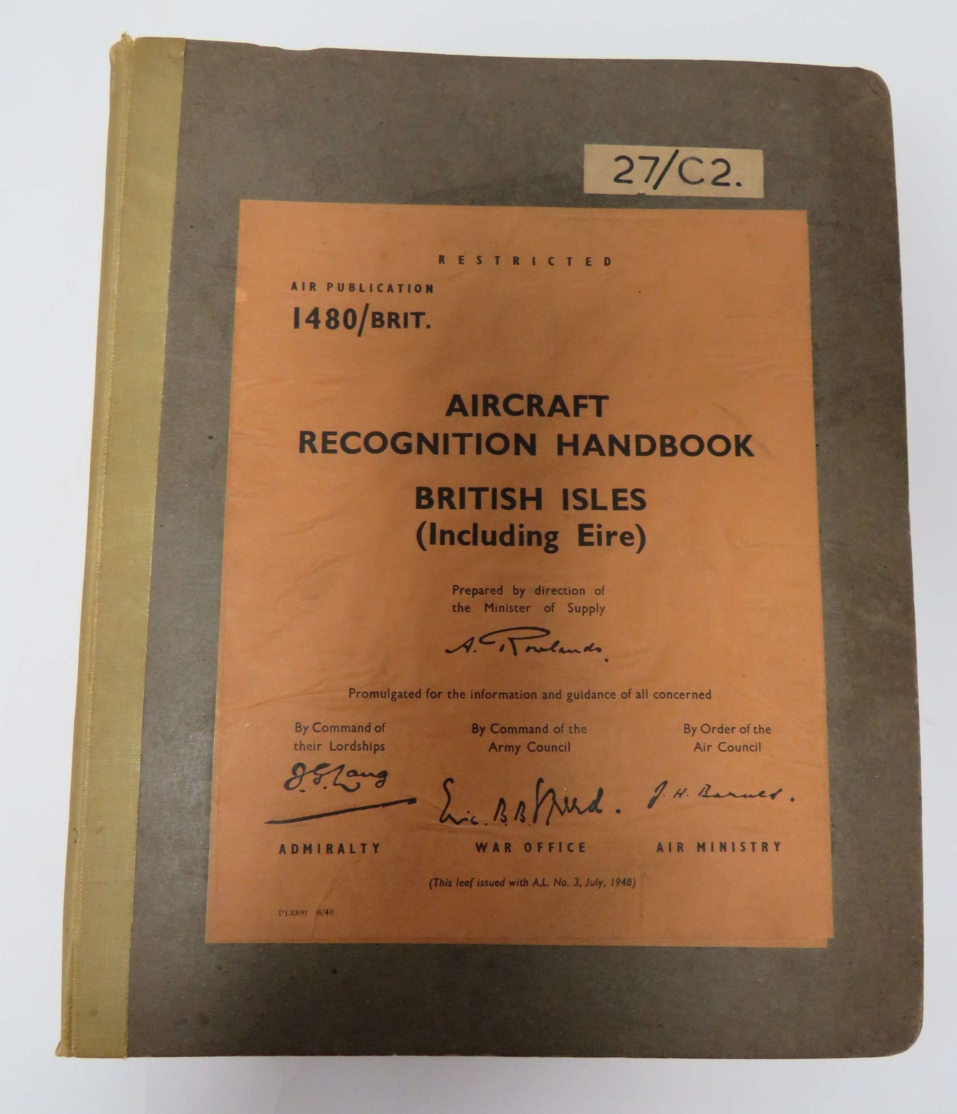 Large Aircraft Recognition Handbook